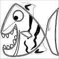 Fish Coloring Page WeColoringPage 099