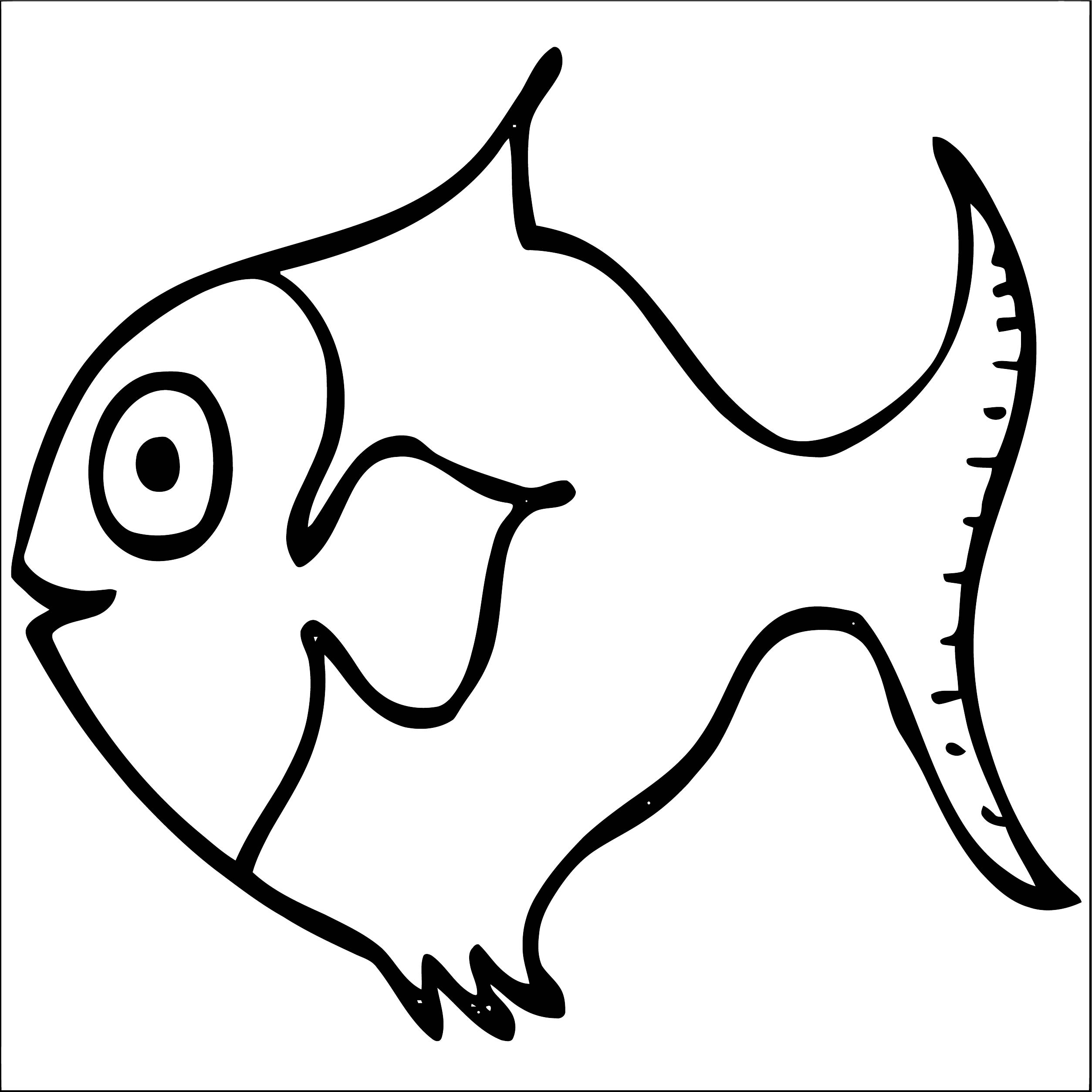 Fish Coloring Page WeColoringPage 102