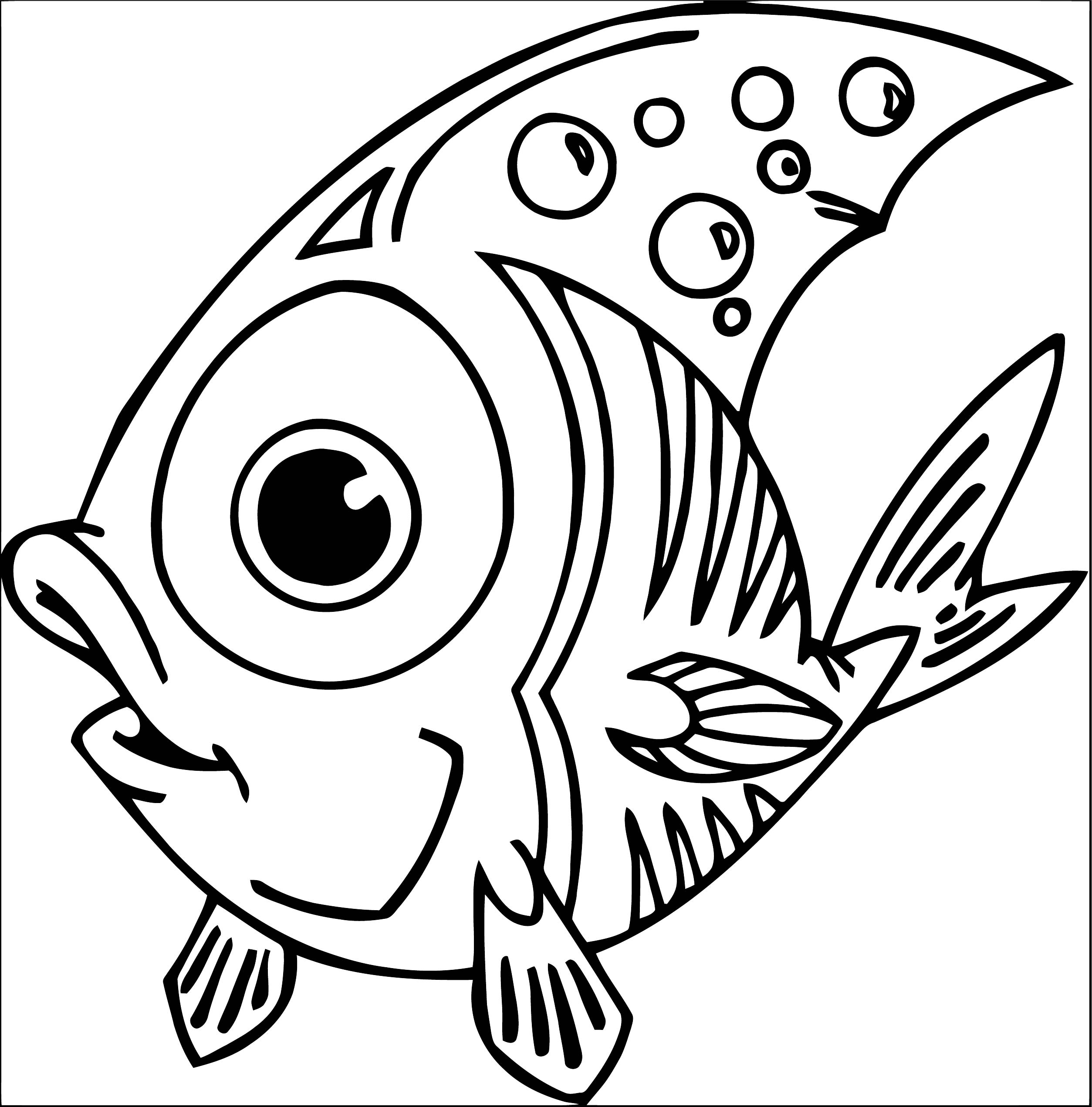 Fish Coloring Page WeColoringPage 105