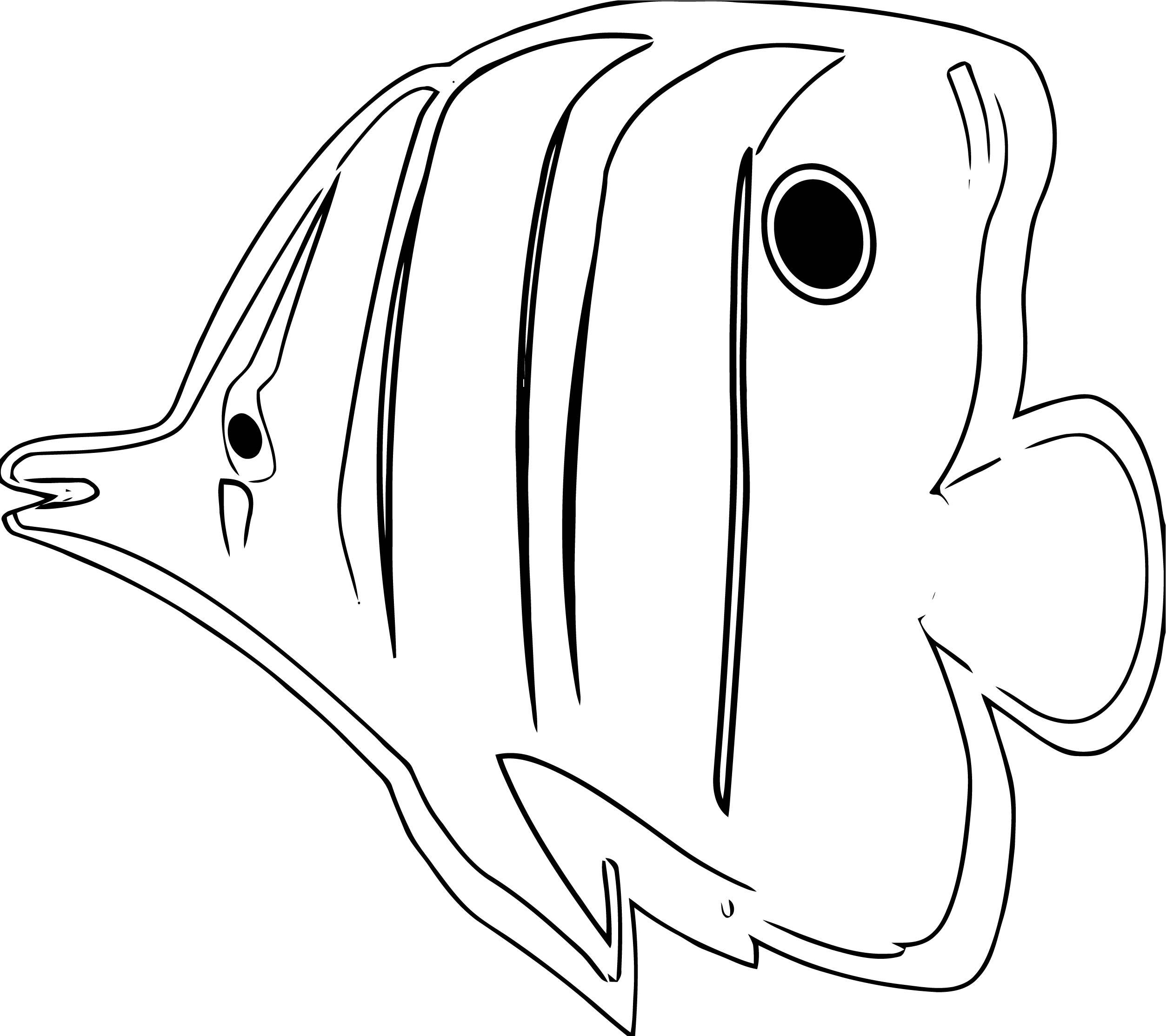 Fish Coloring Page WeColoringPage 109 | Wecoloringpage.com