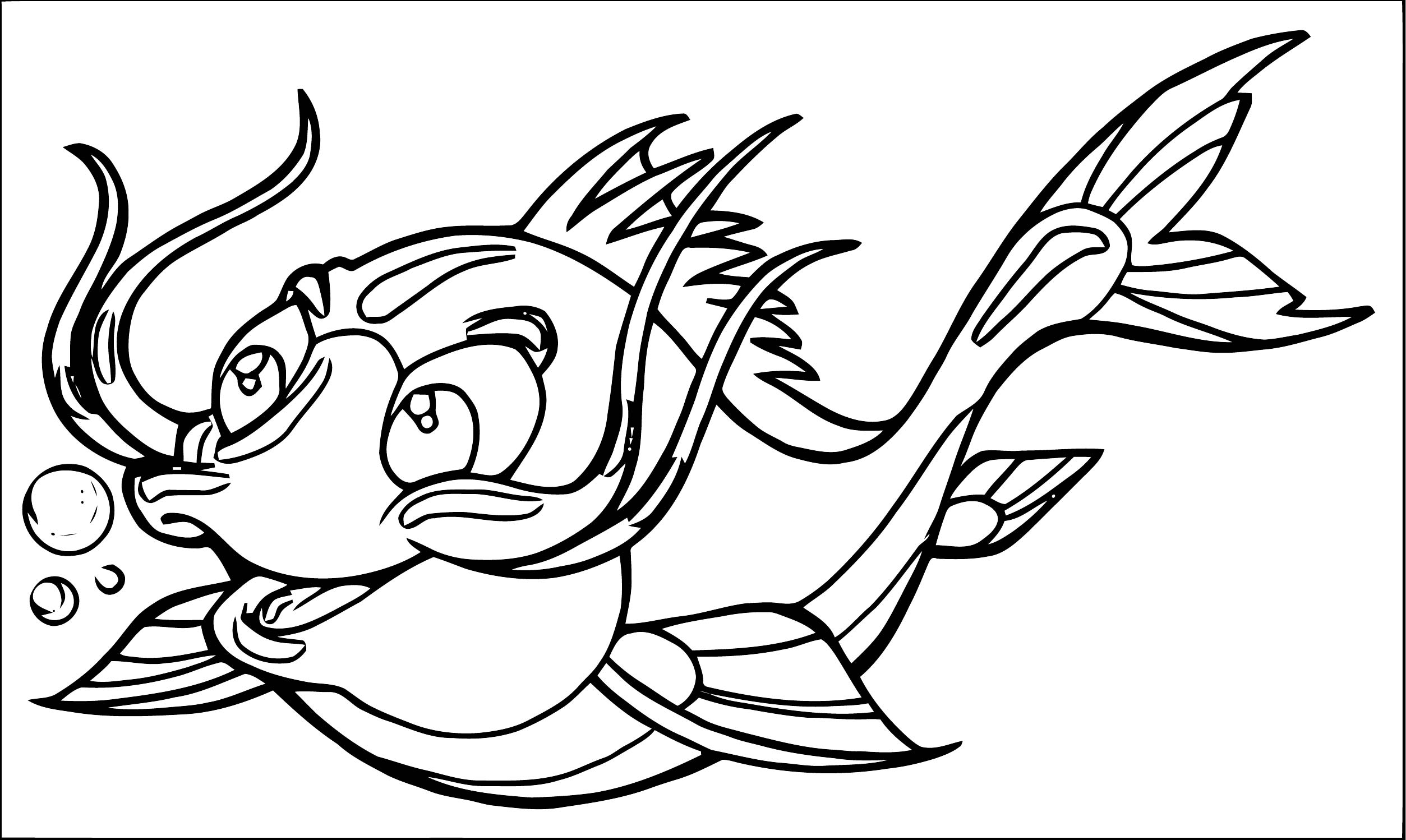 Fish Coloring Page WeColoringPage 115