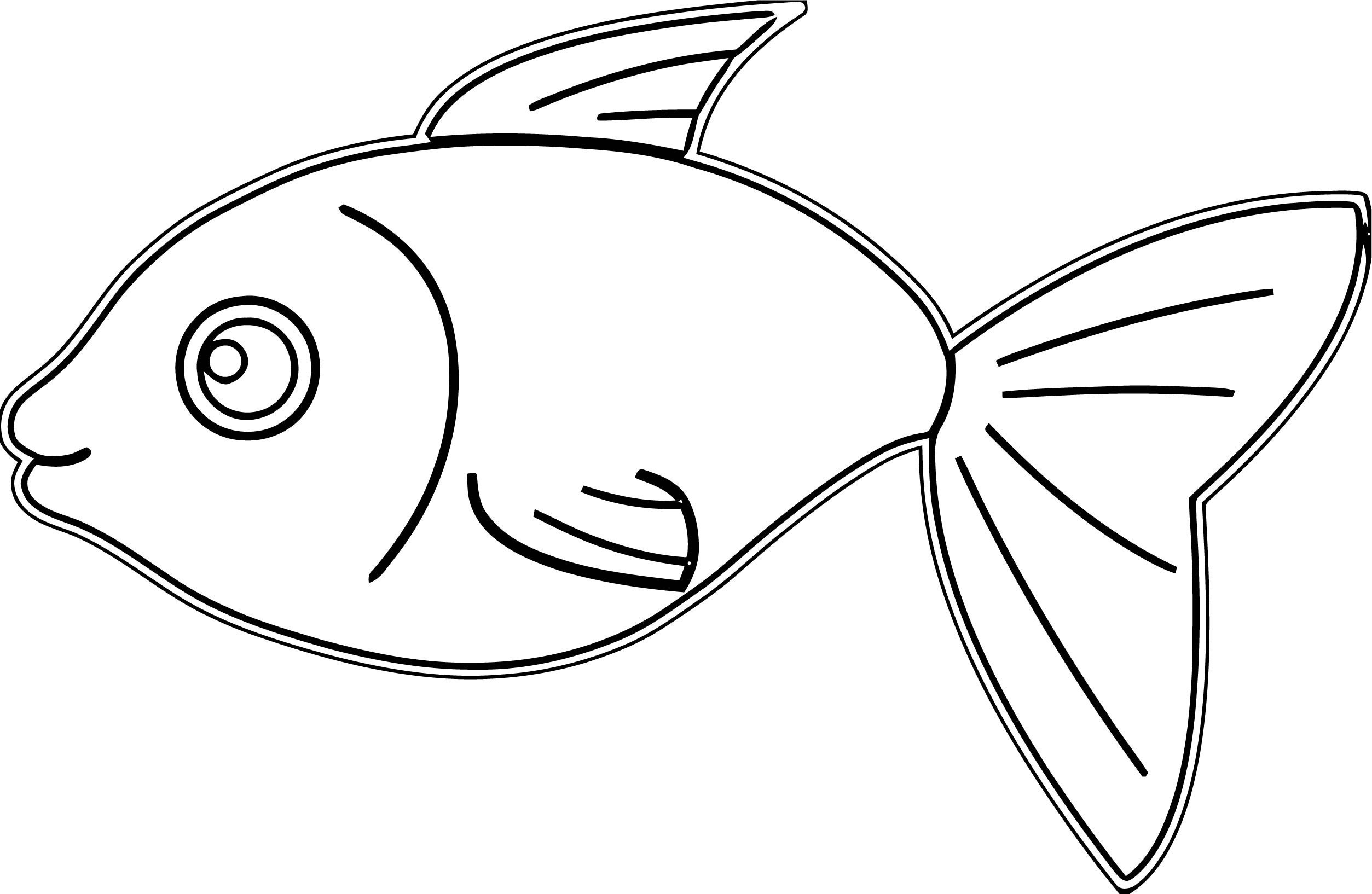 Fish Coloring Page WeColoringPage 117