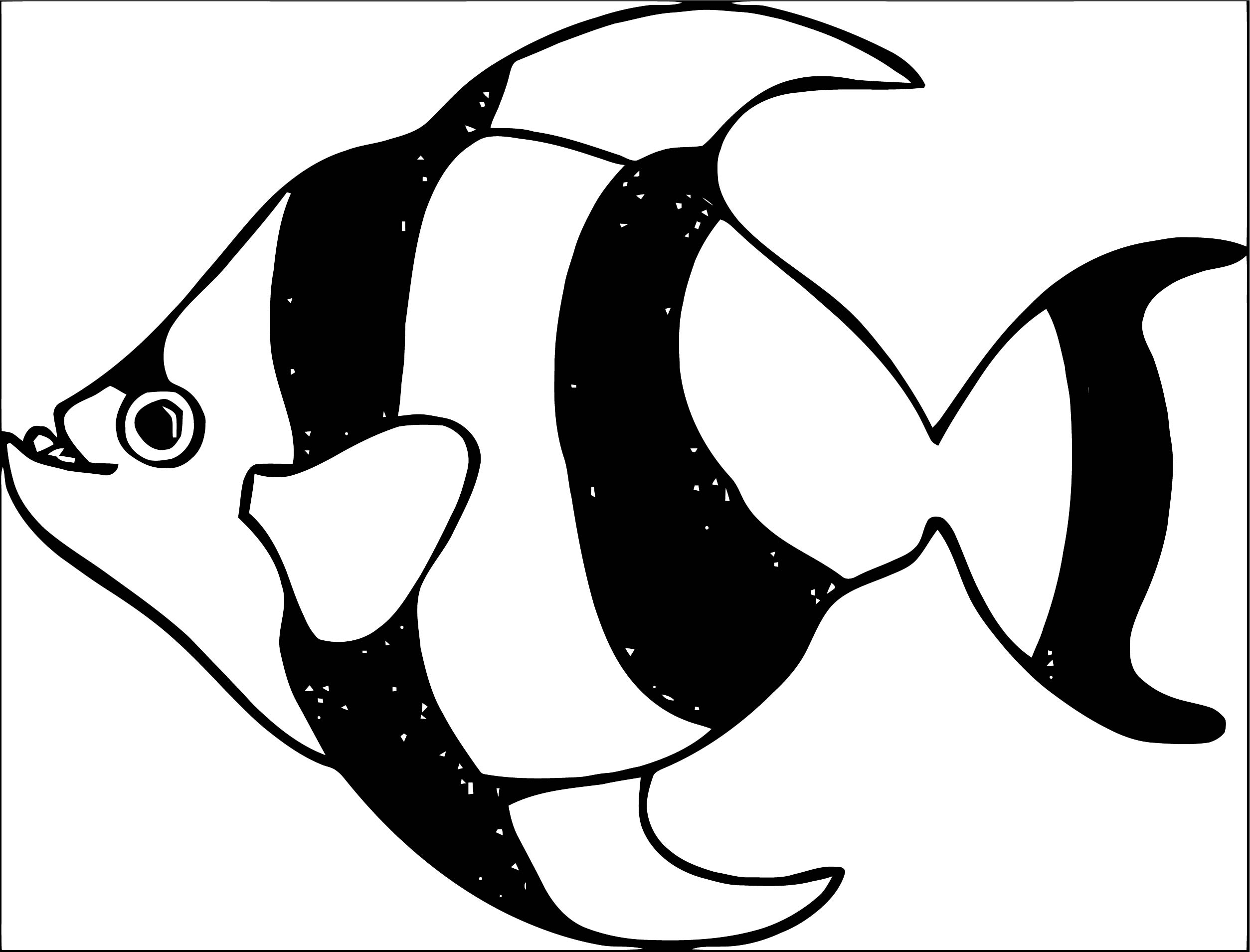 Fish Coloring Page WeColoringPage 122
