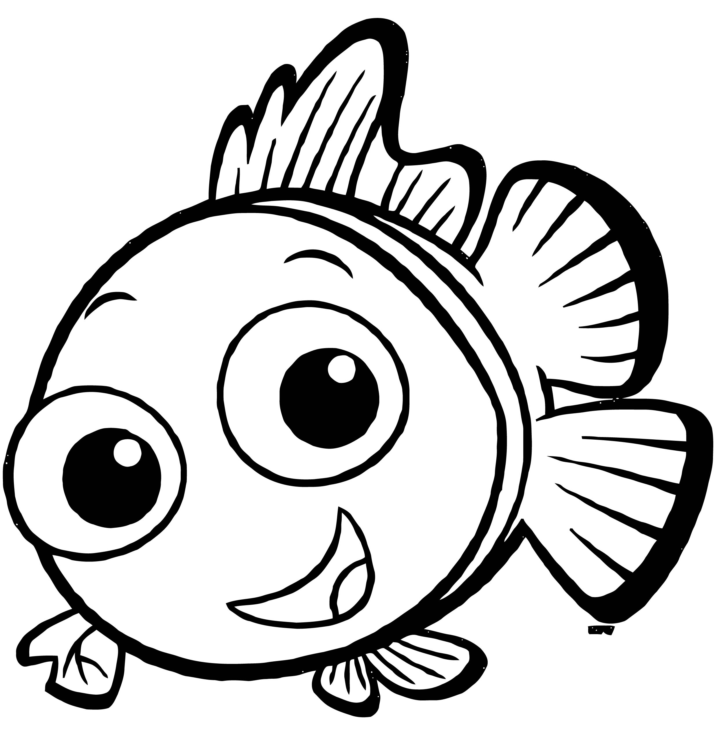 Fish Coloring Page WeColoringPage 133