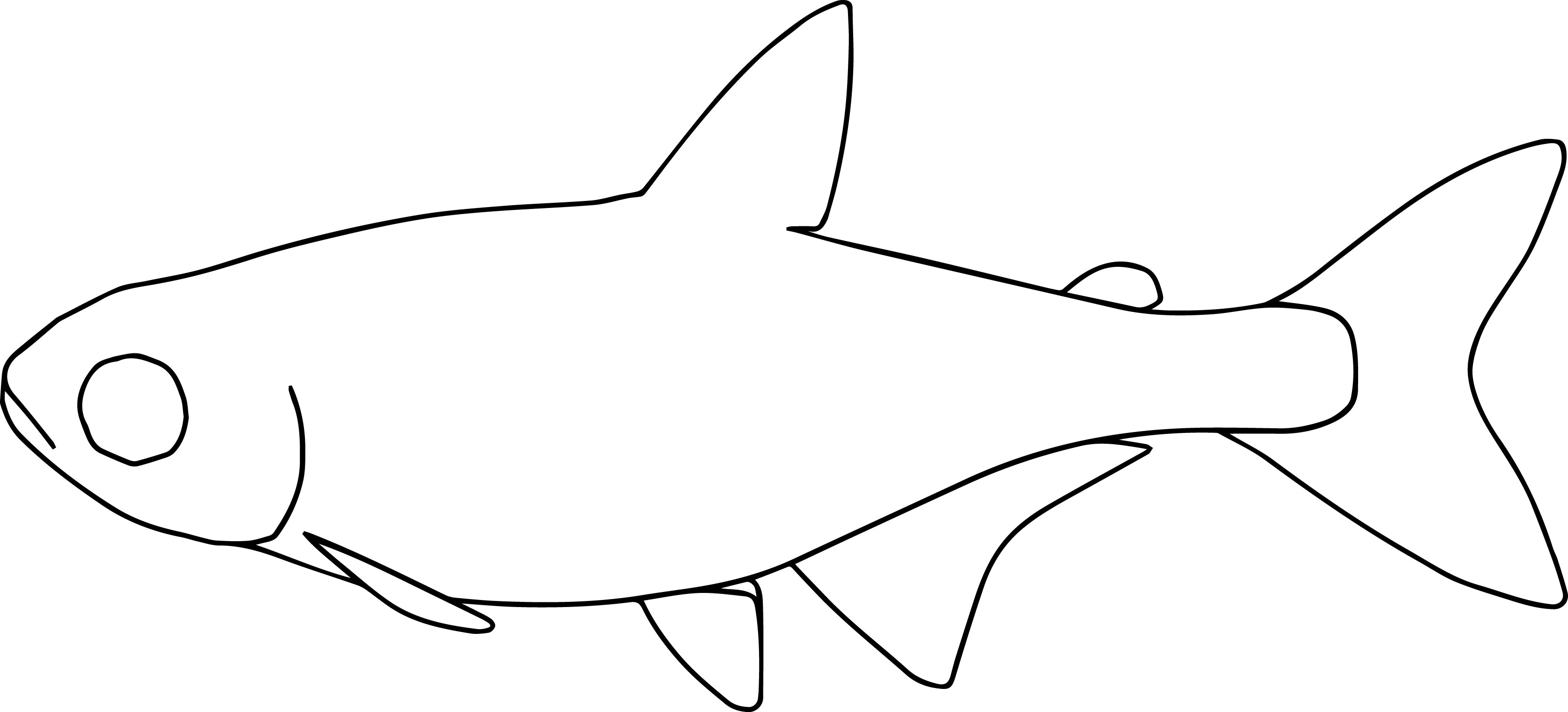 Fish21 Coloring Page