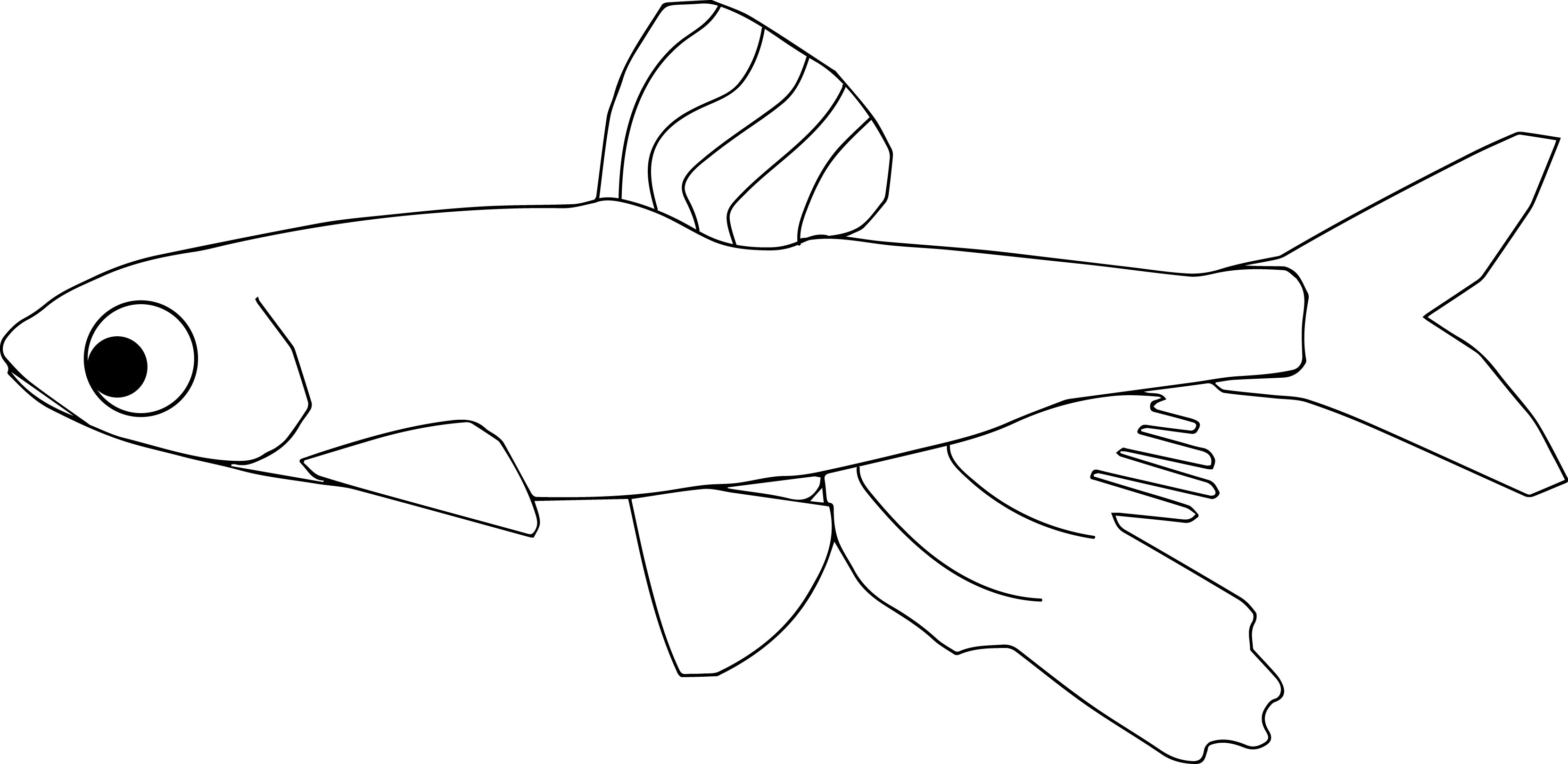 Fish22 1 Coloring Page