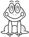 Frog 2 Coloring Page