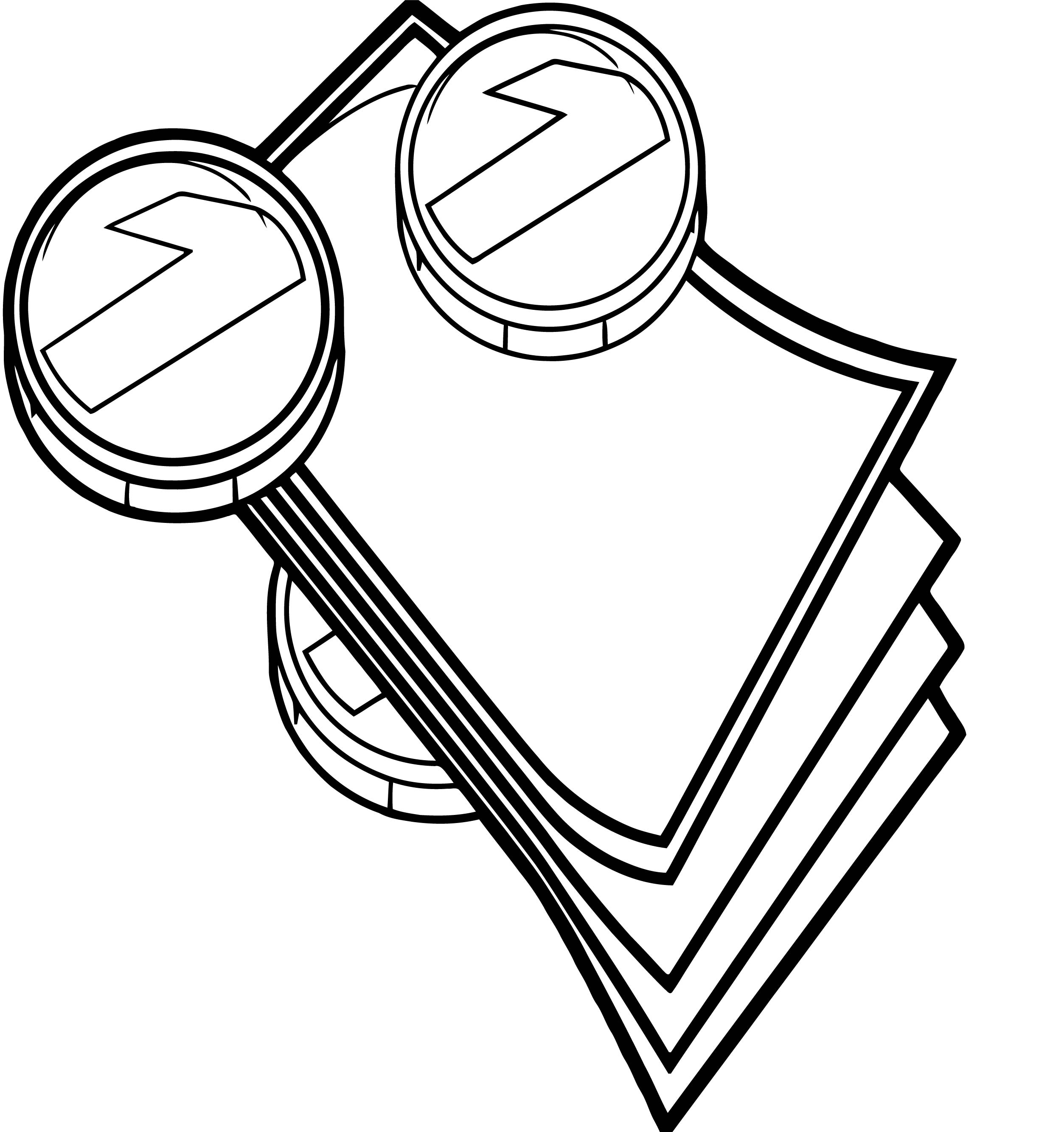 Money Coins And Bills Hi Coloring Page