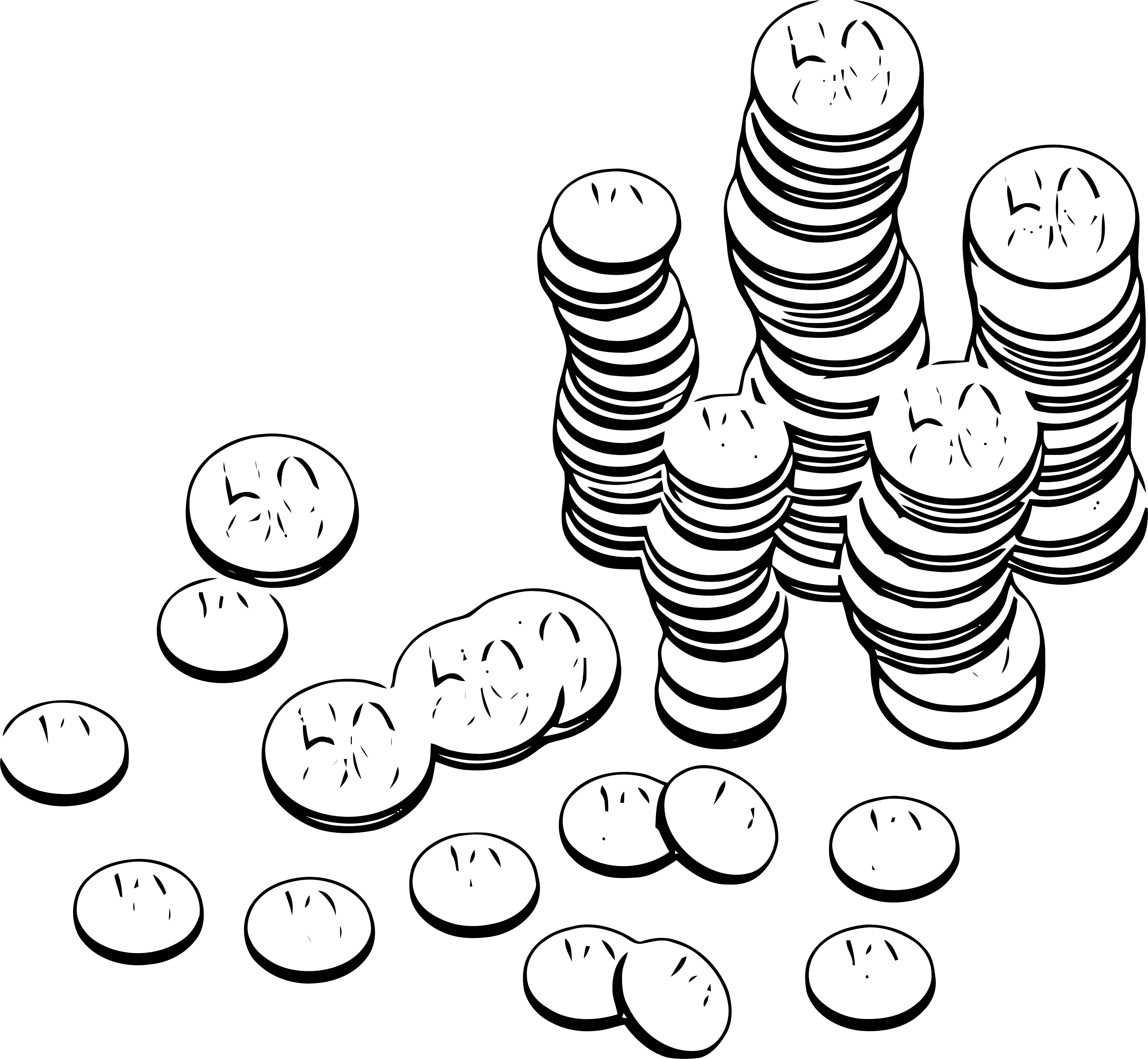 Money Coloring Page 12