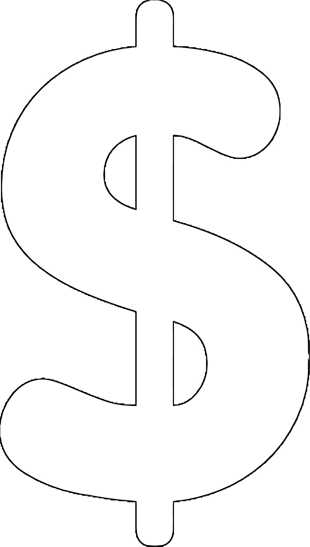 Money Coloring Page 13