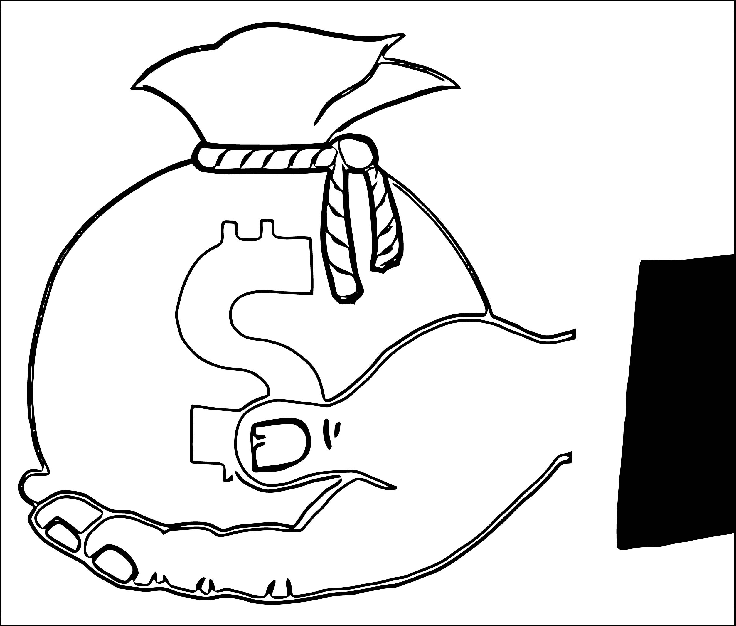 Money Coloring Page 18