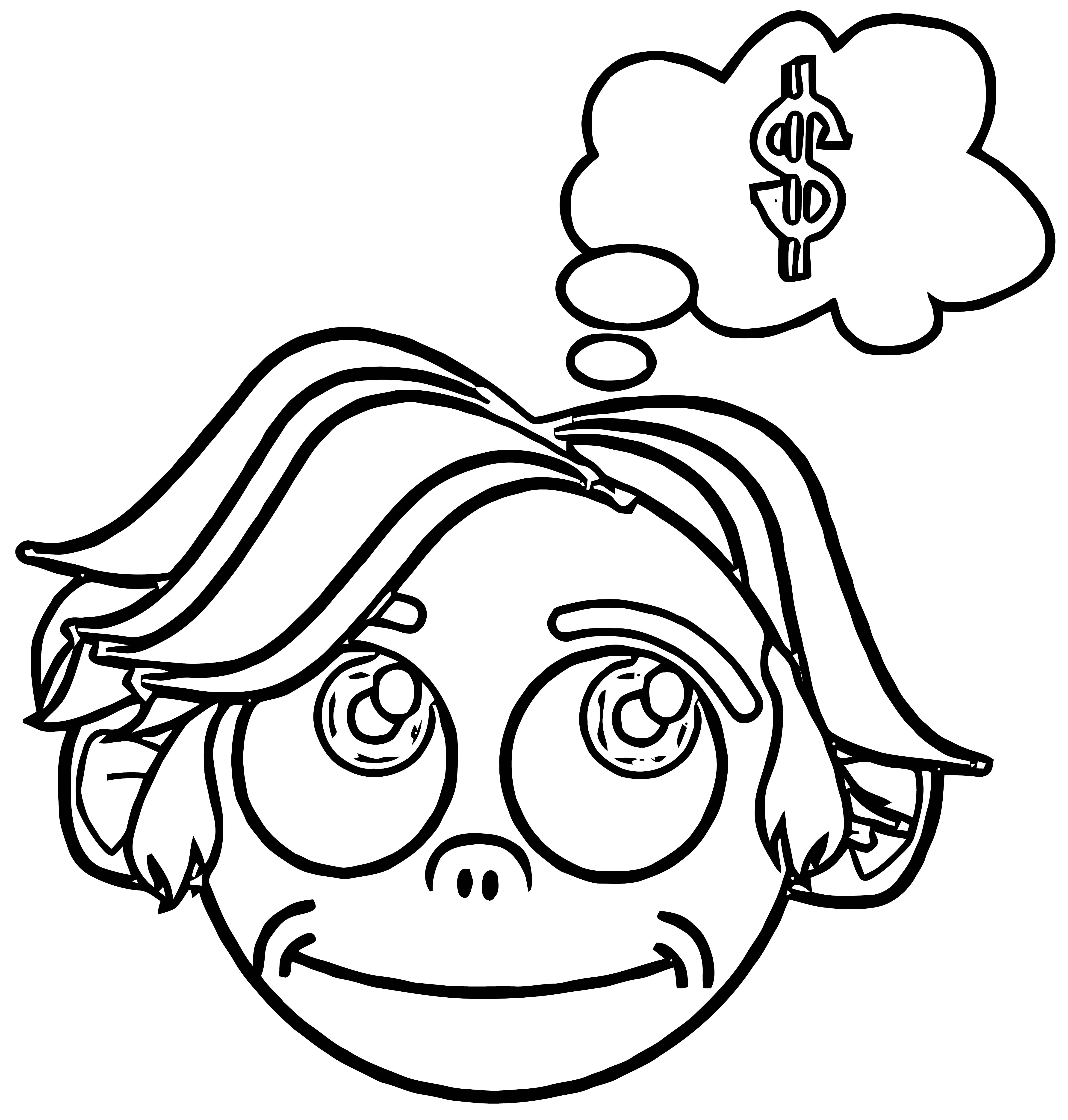 Money Coloring Page 19