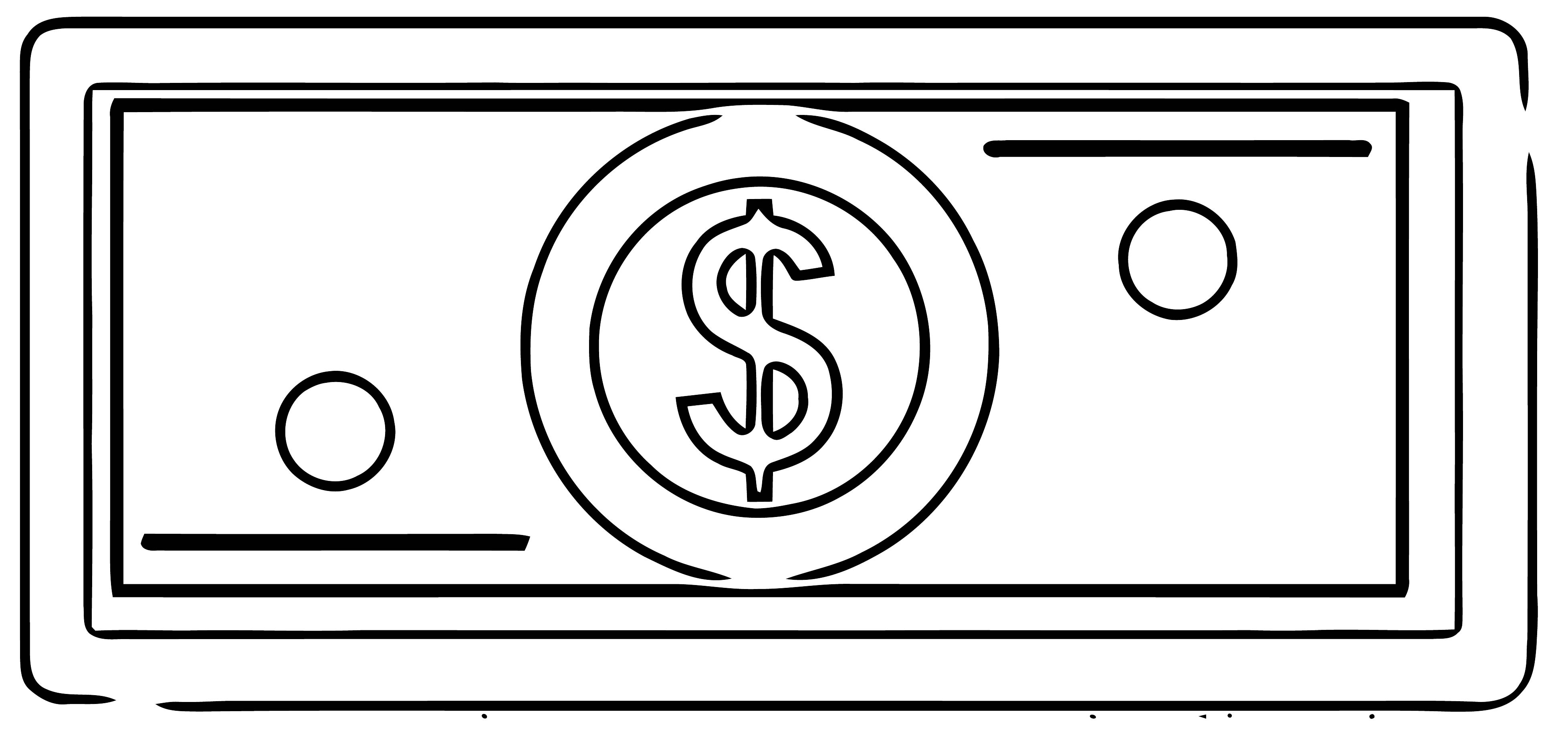 Money Coloring Page 21