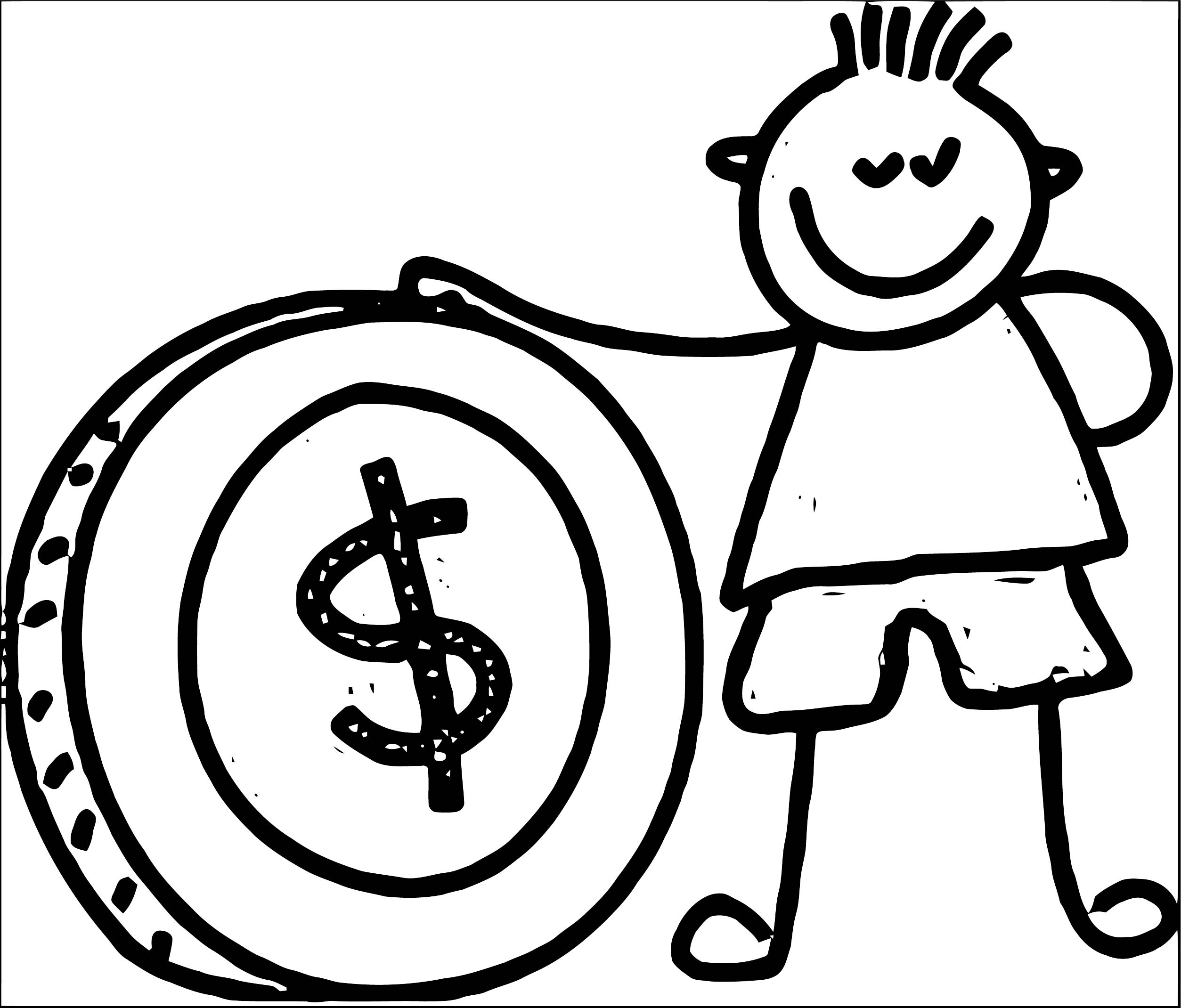 Money Coloring Page 27