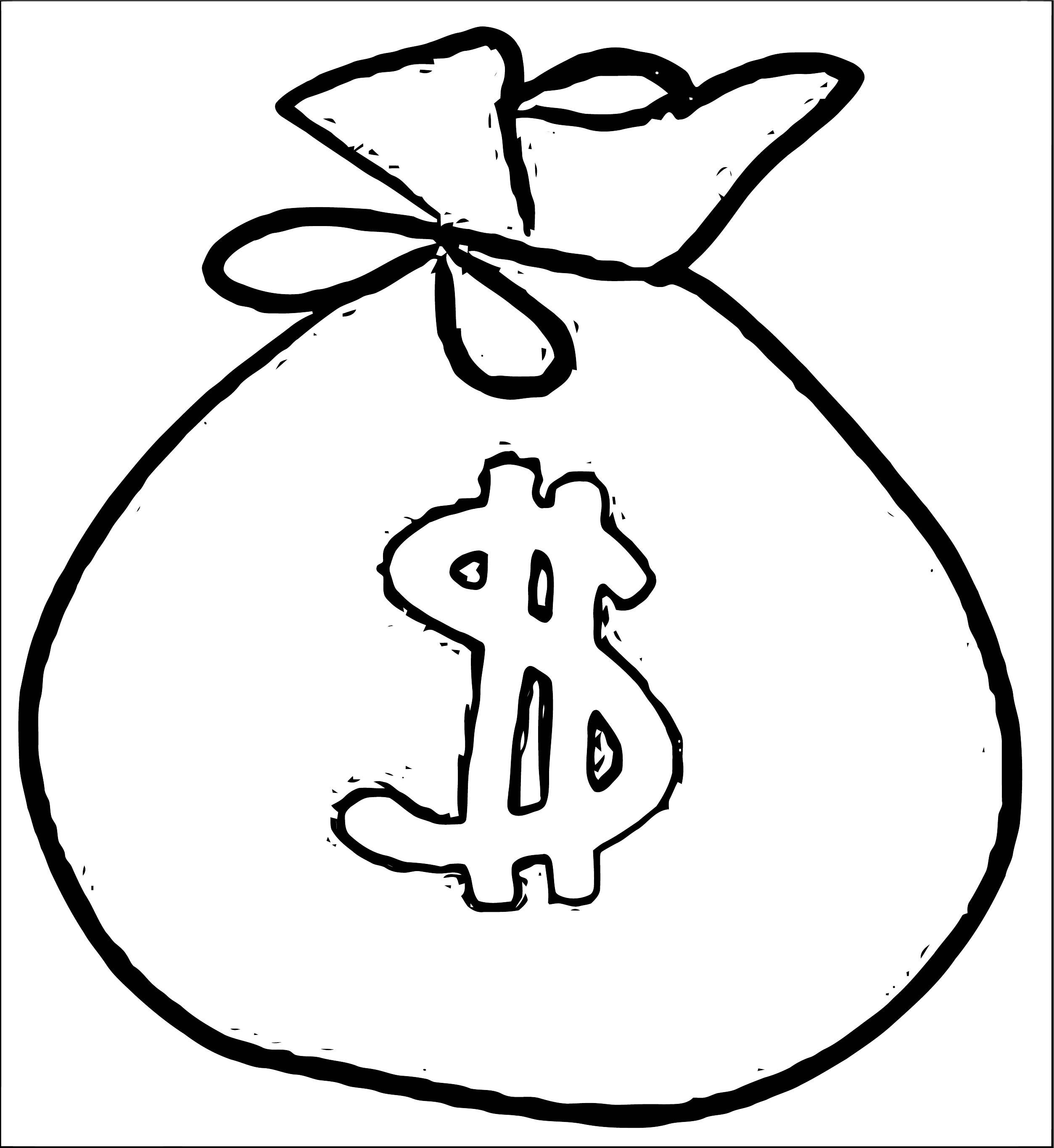 Money Coloring Page 29