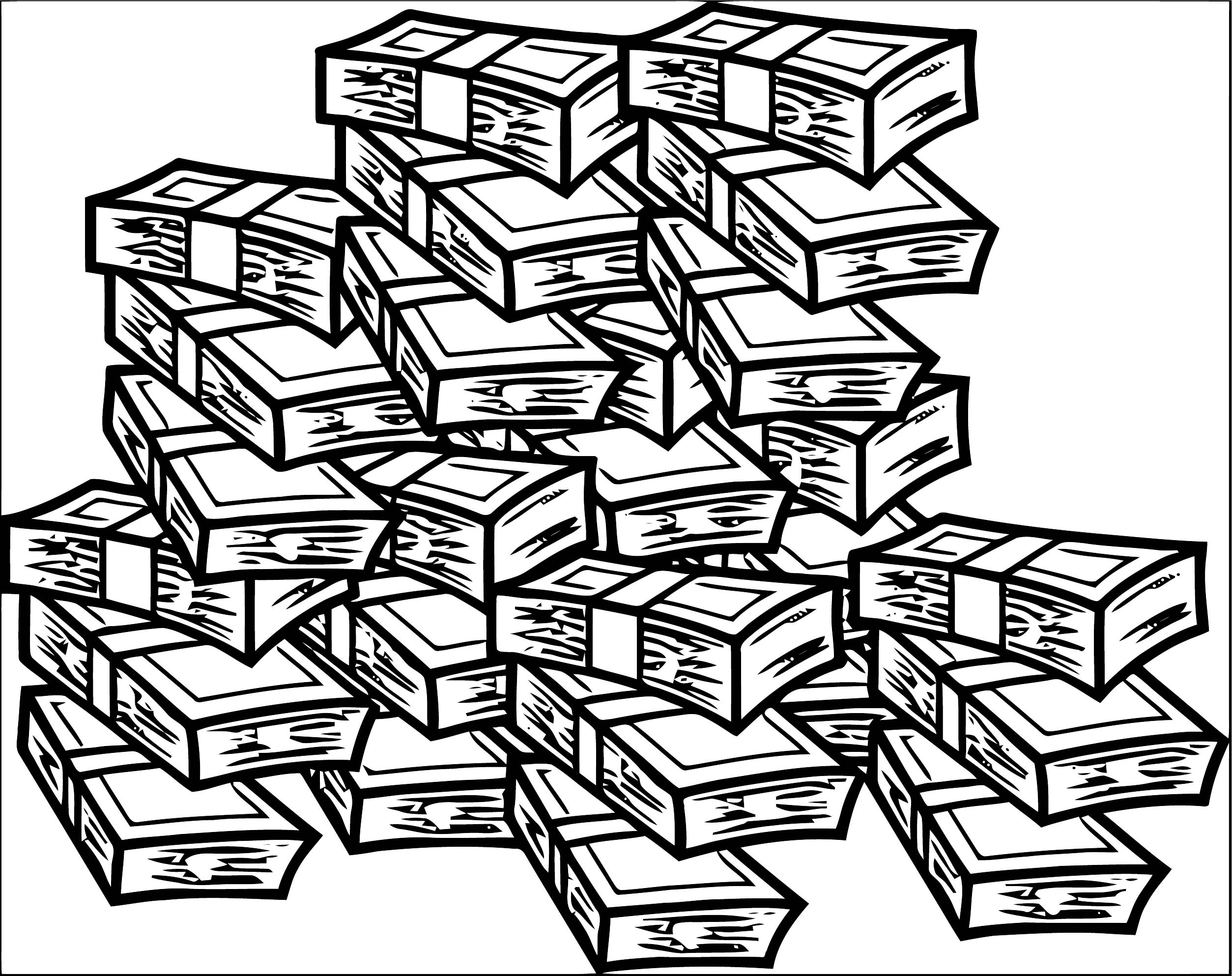 Money Coloring Page 36