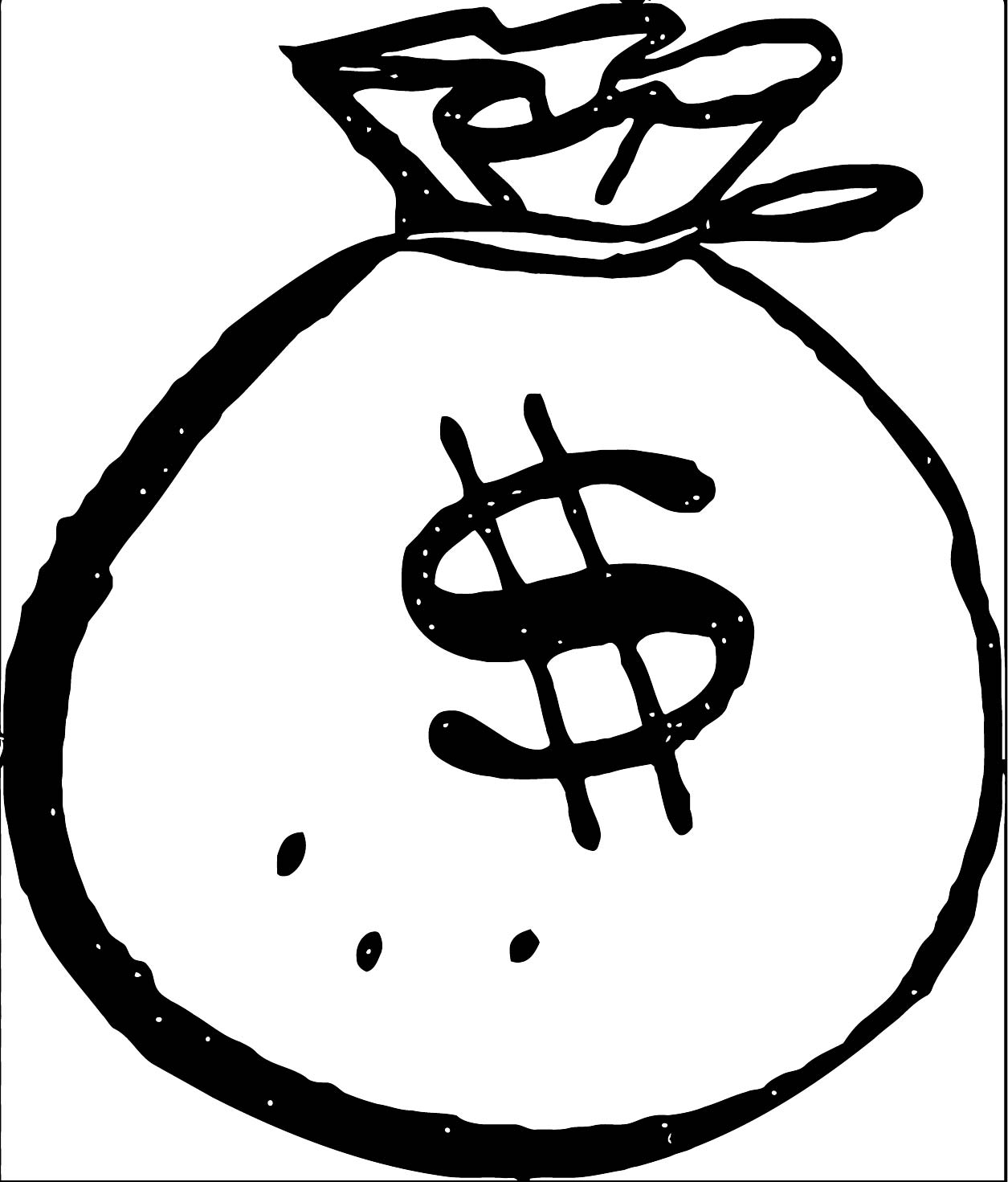 Money Coloring Page 38