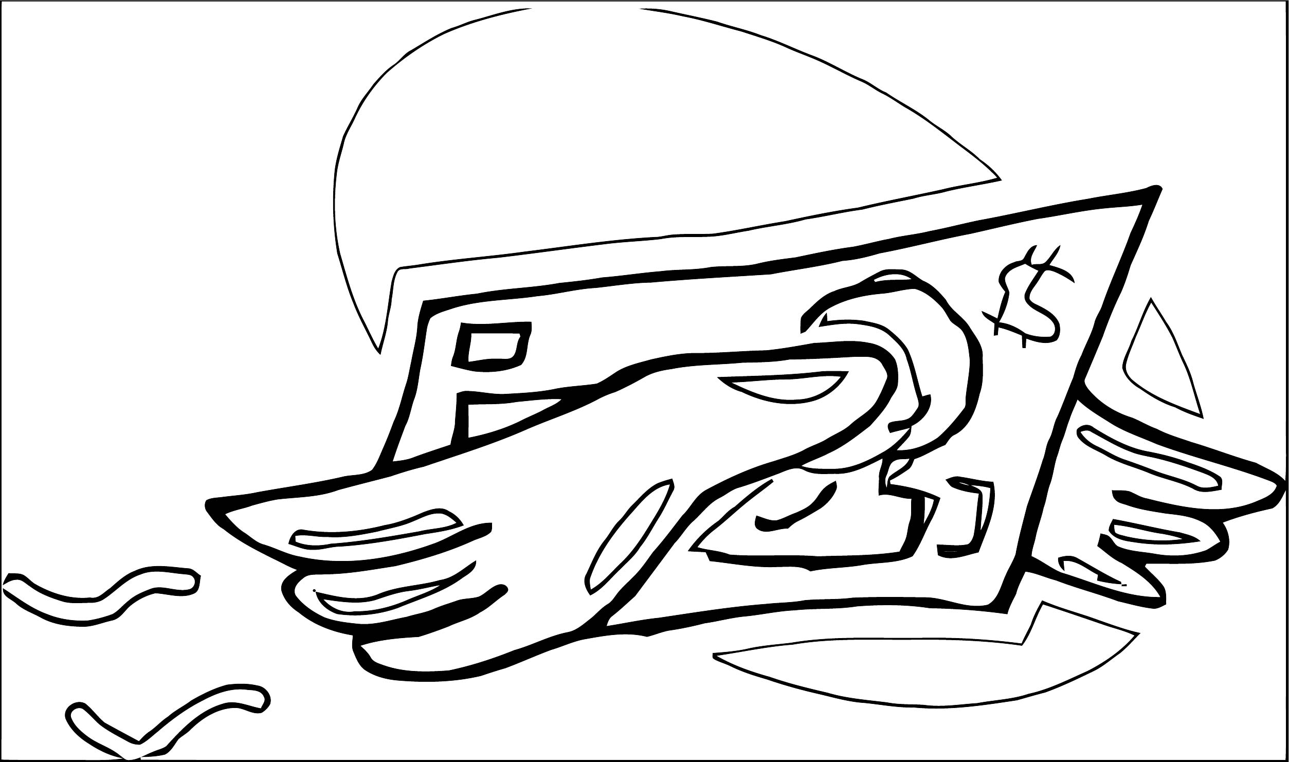 Money Coloring Page 40