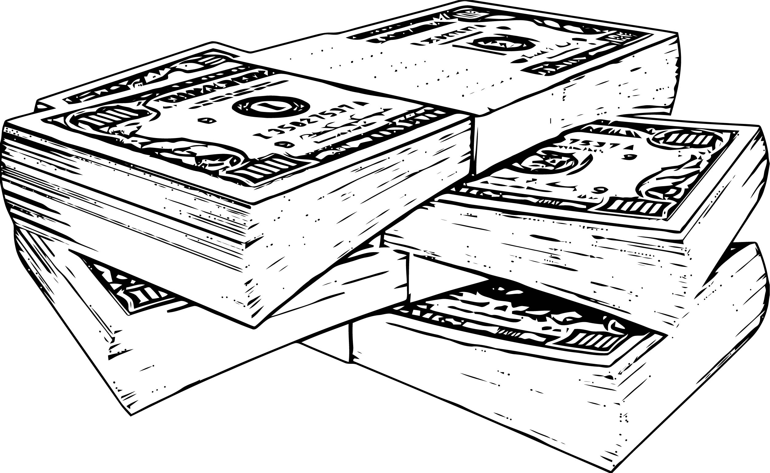 Money Coloring Page 44