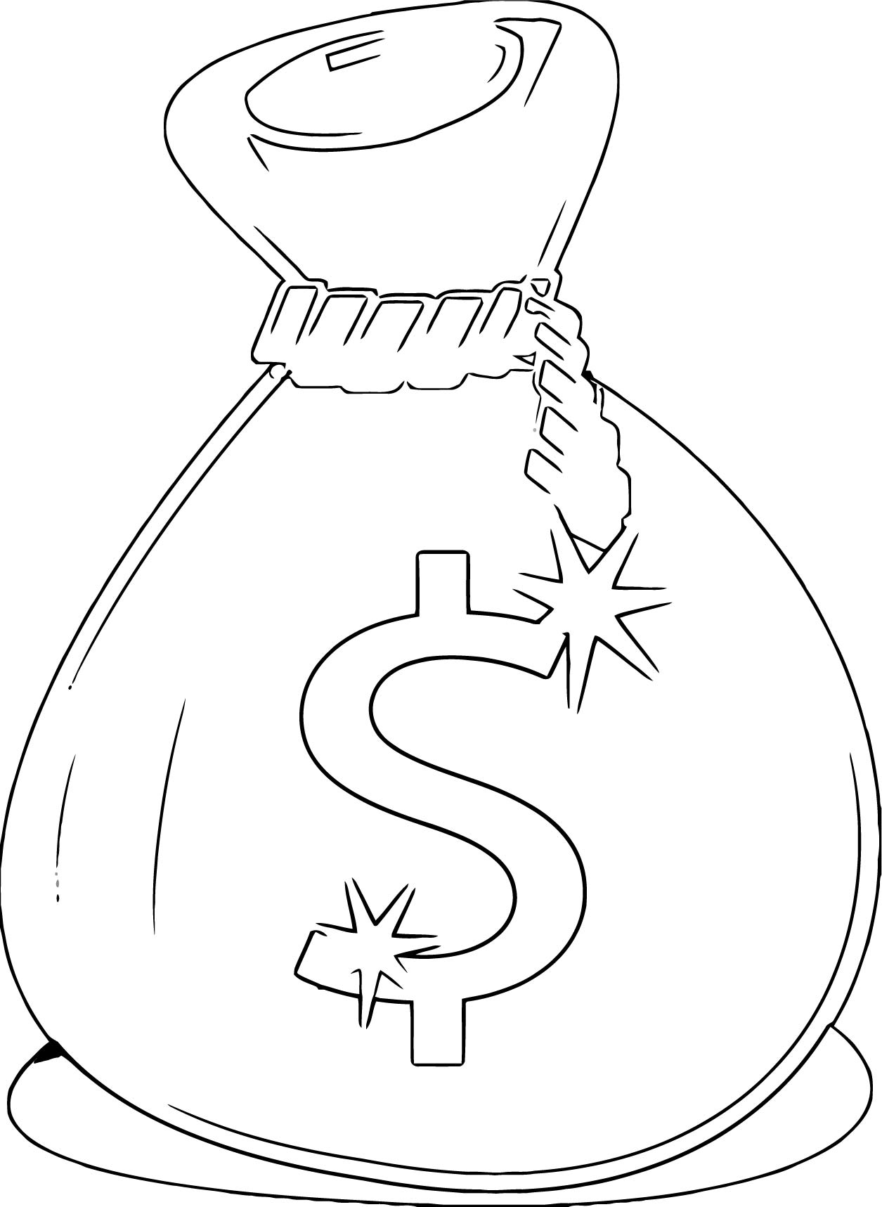 Money Coloring Page 46