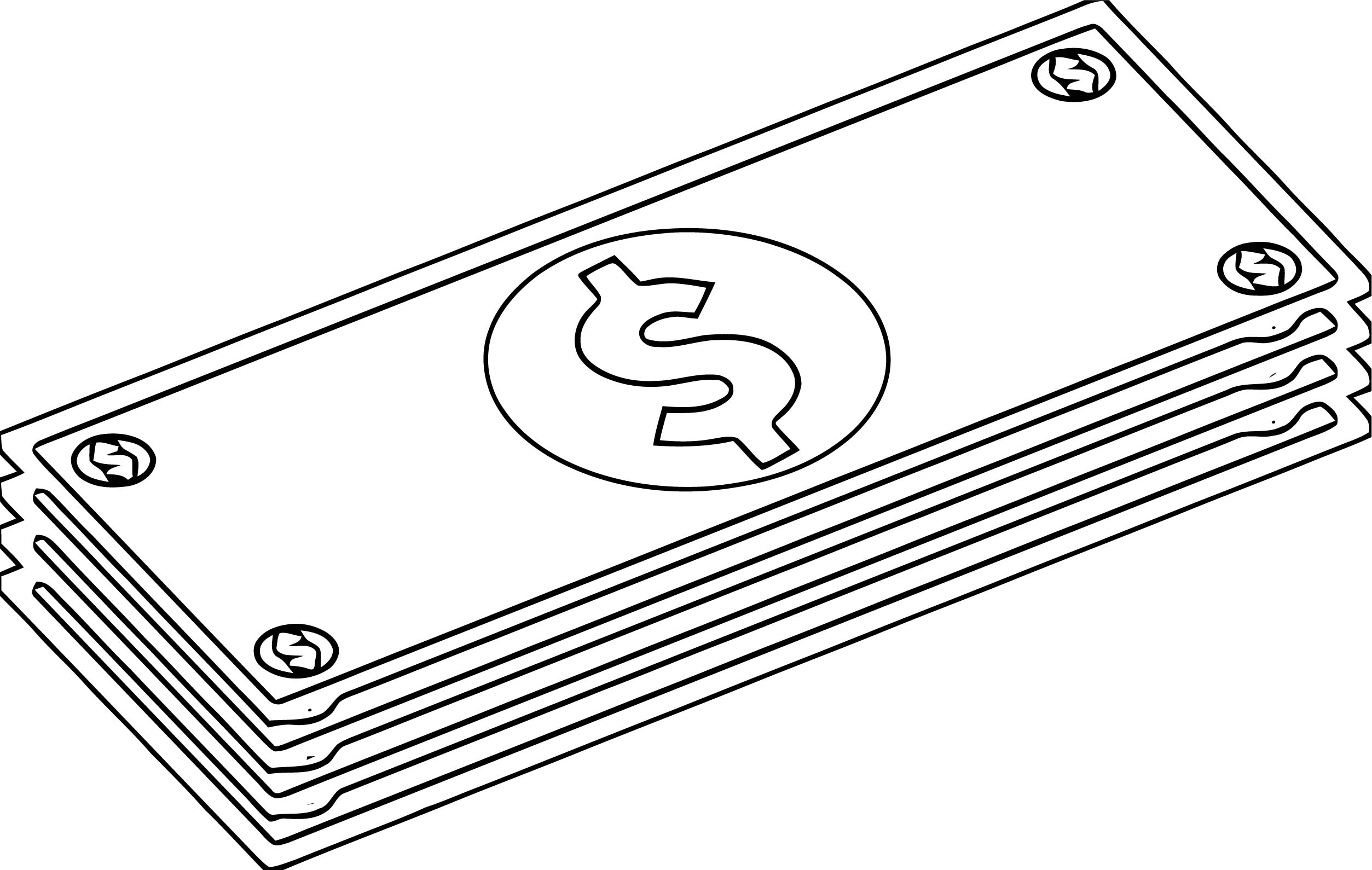 Money Coloring Page 52