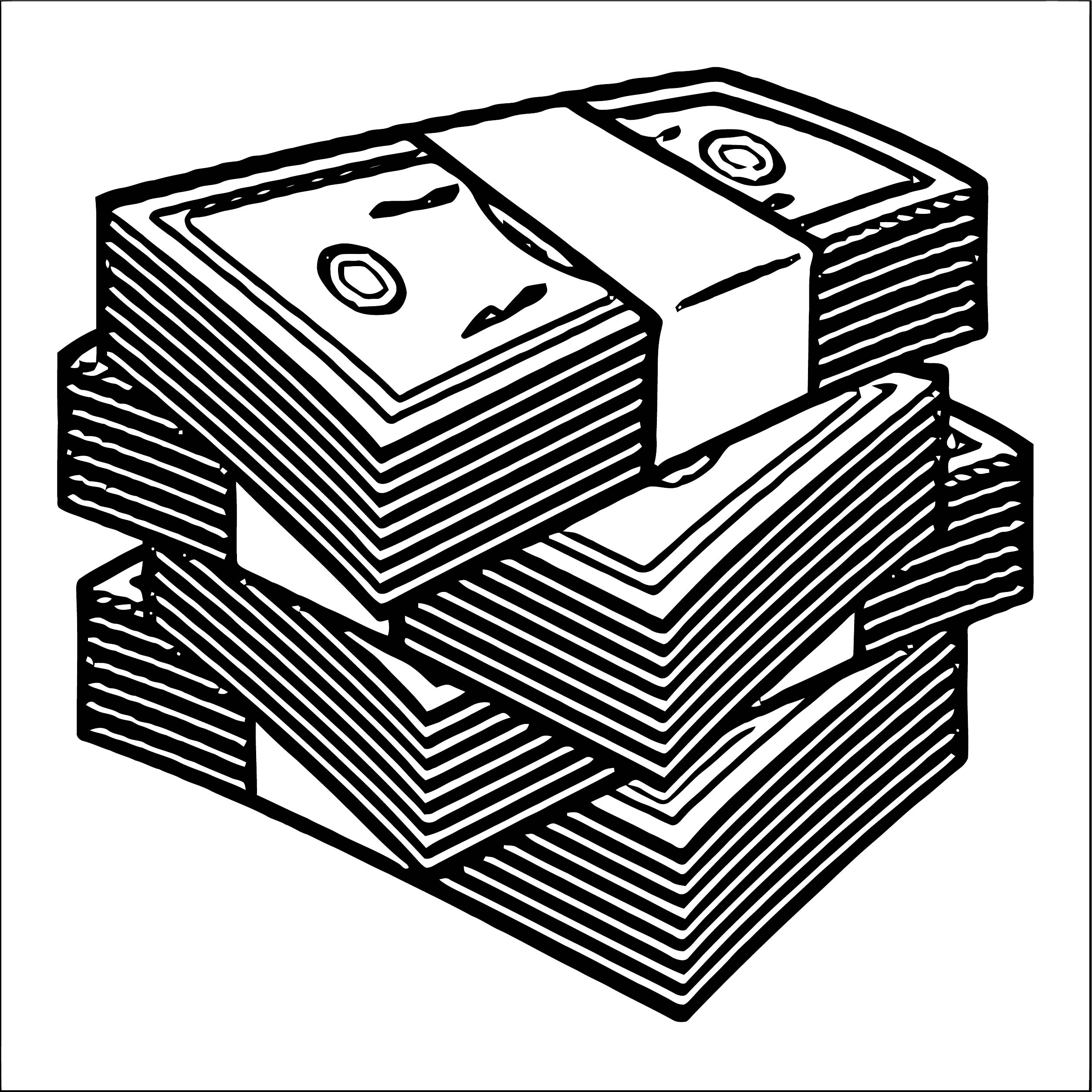 Money Coloring Page 59