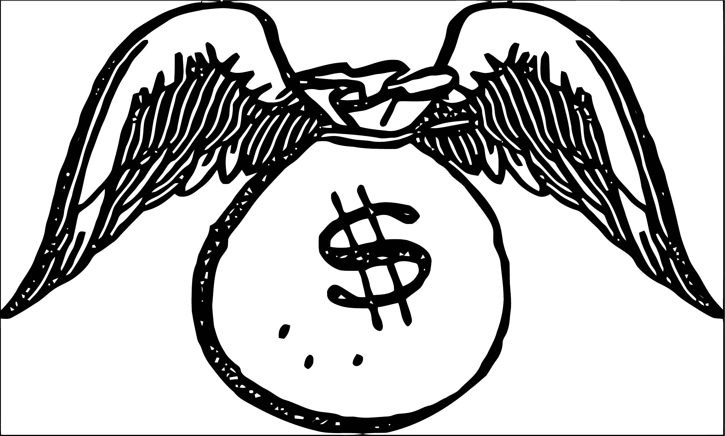 Money Coloring Page 60