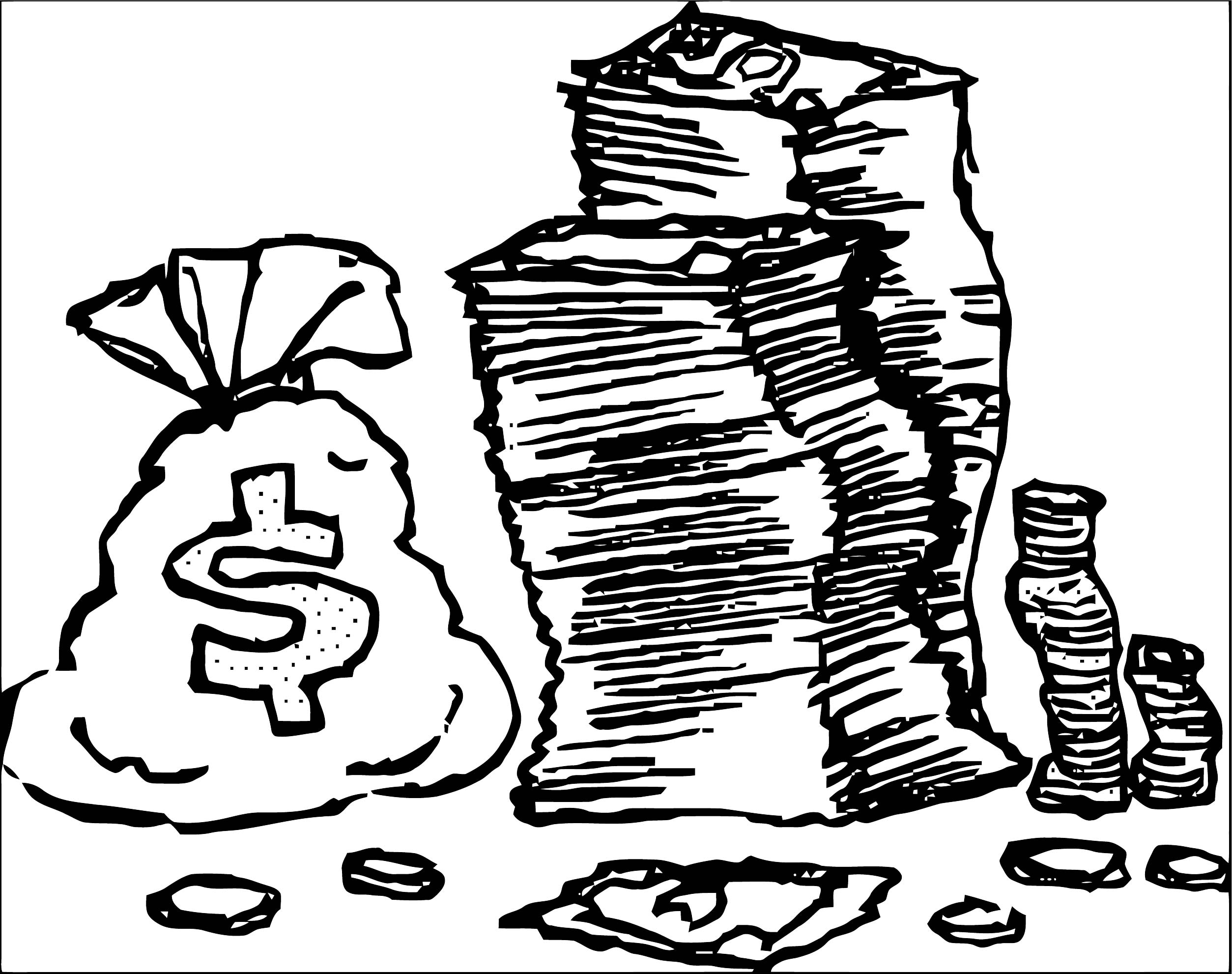 Money Coloring Page 65