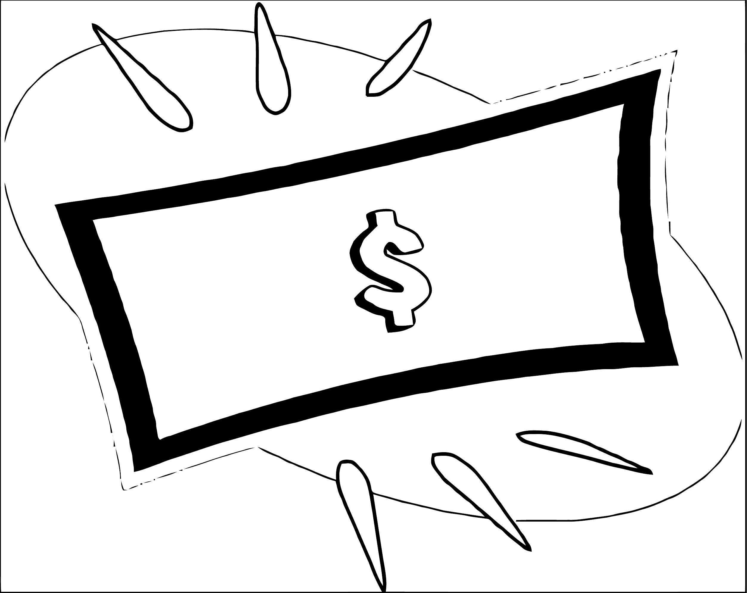 Money Coloring Page 67
