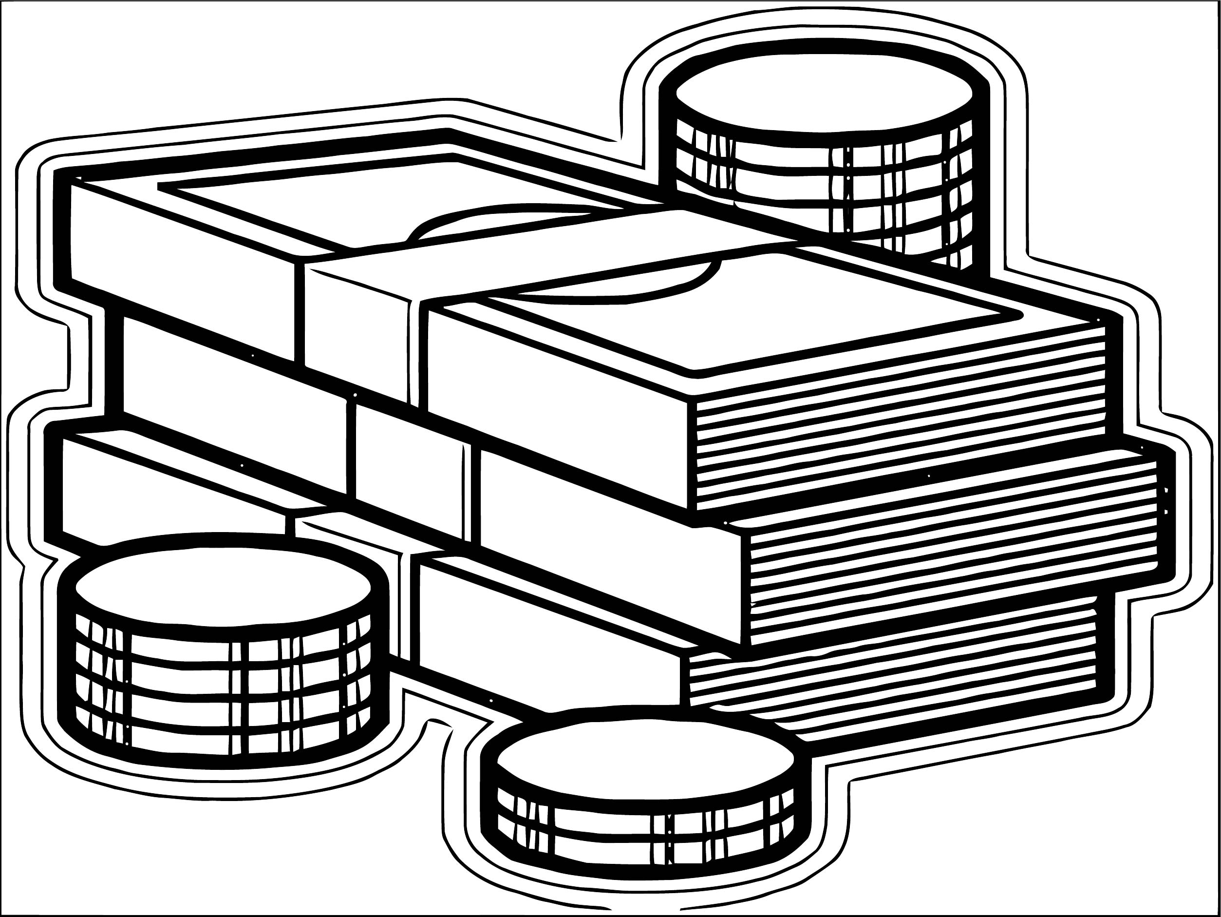 Money Coloring Page 68