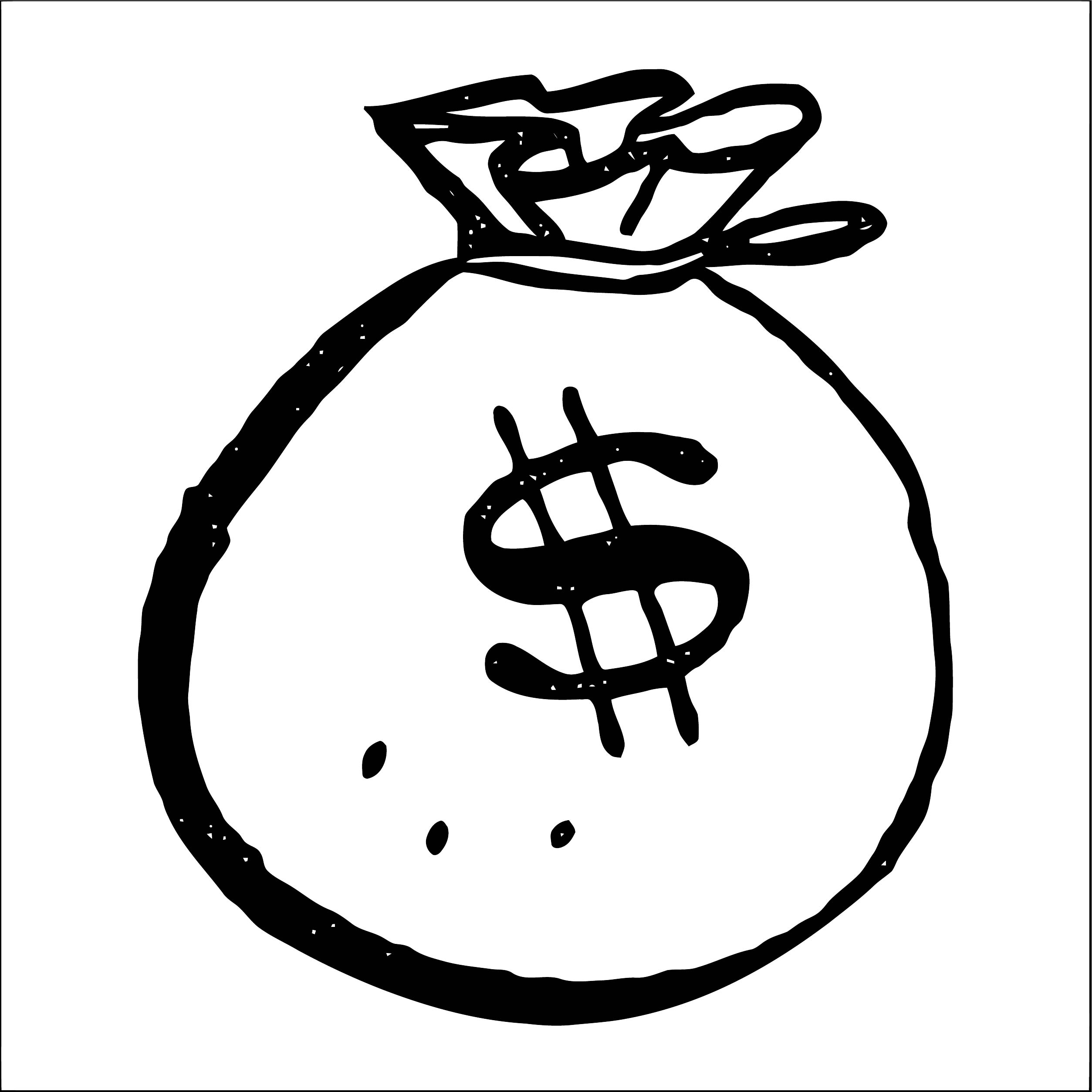 Money Coloring Page 69