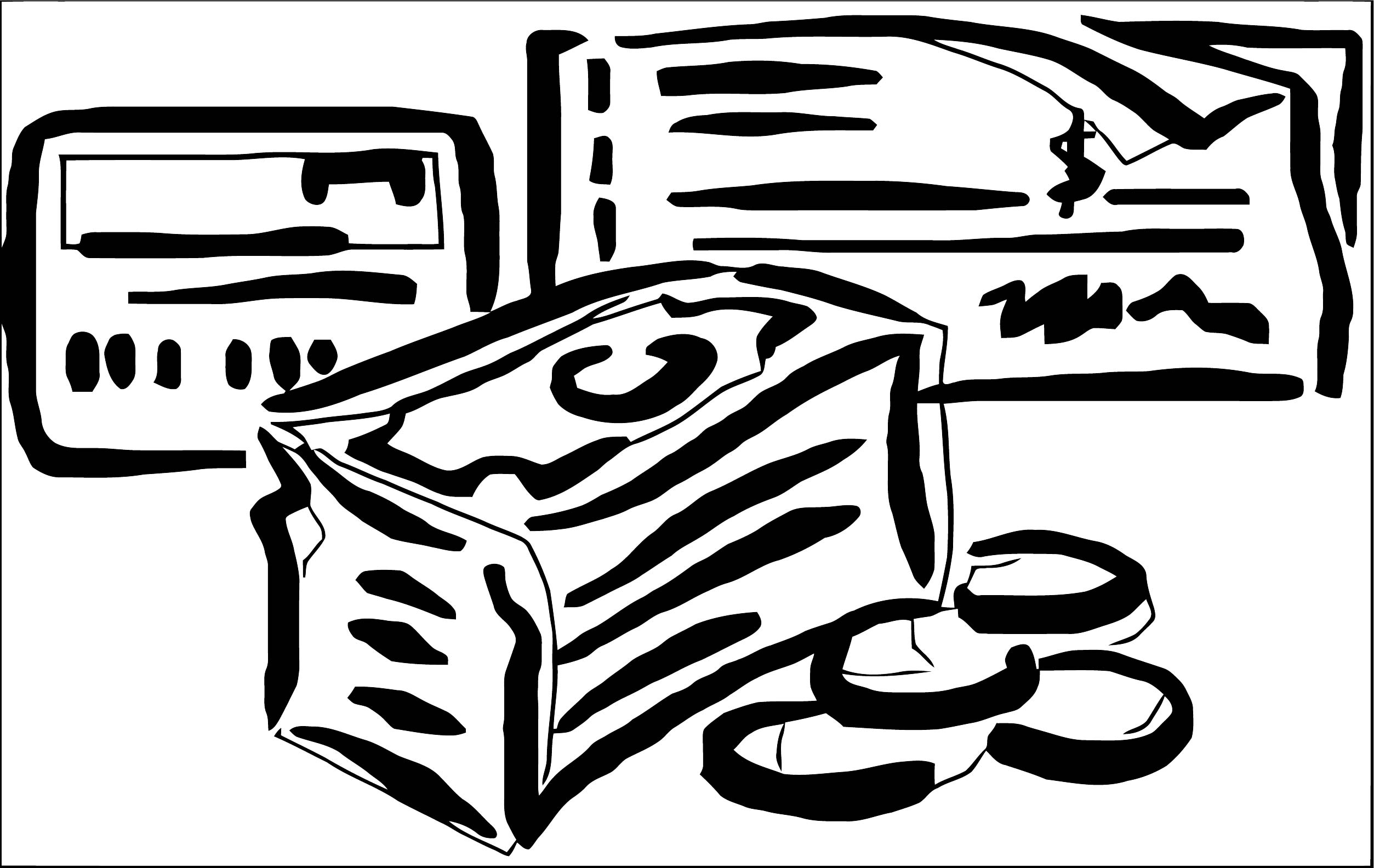 Money Coloring Page 79