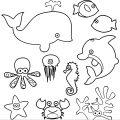 Sea Animals Coloring Page WeColoringPage 03