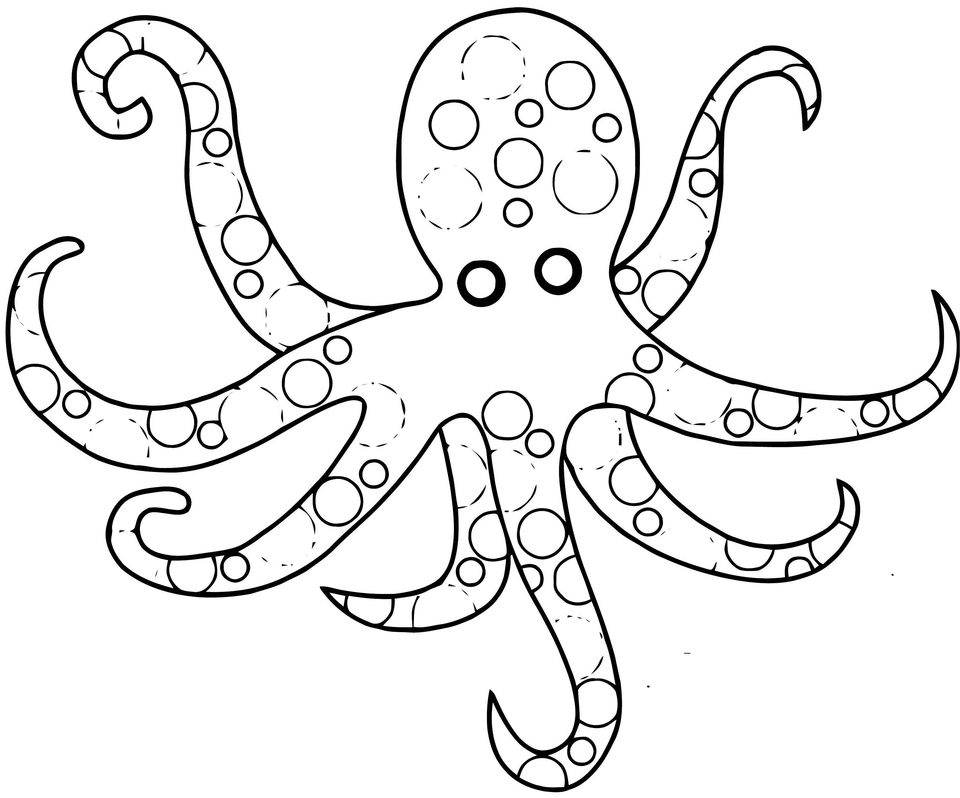 Sea Animals Coloring Page WeColoringPage 07