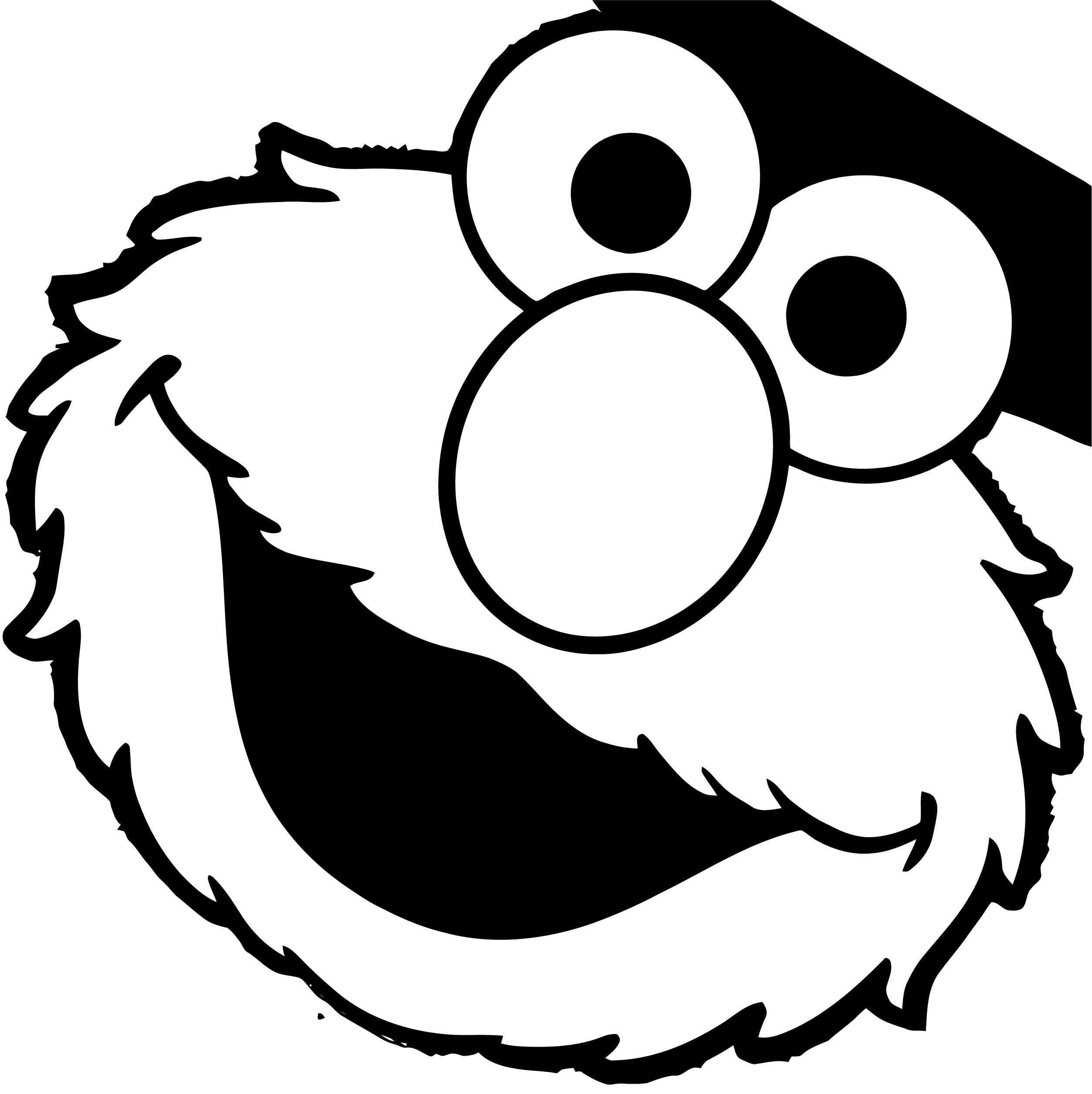 Sesame Street Elmo Coloring Page WeColoringPage 18