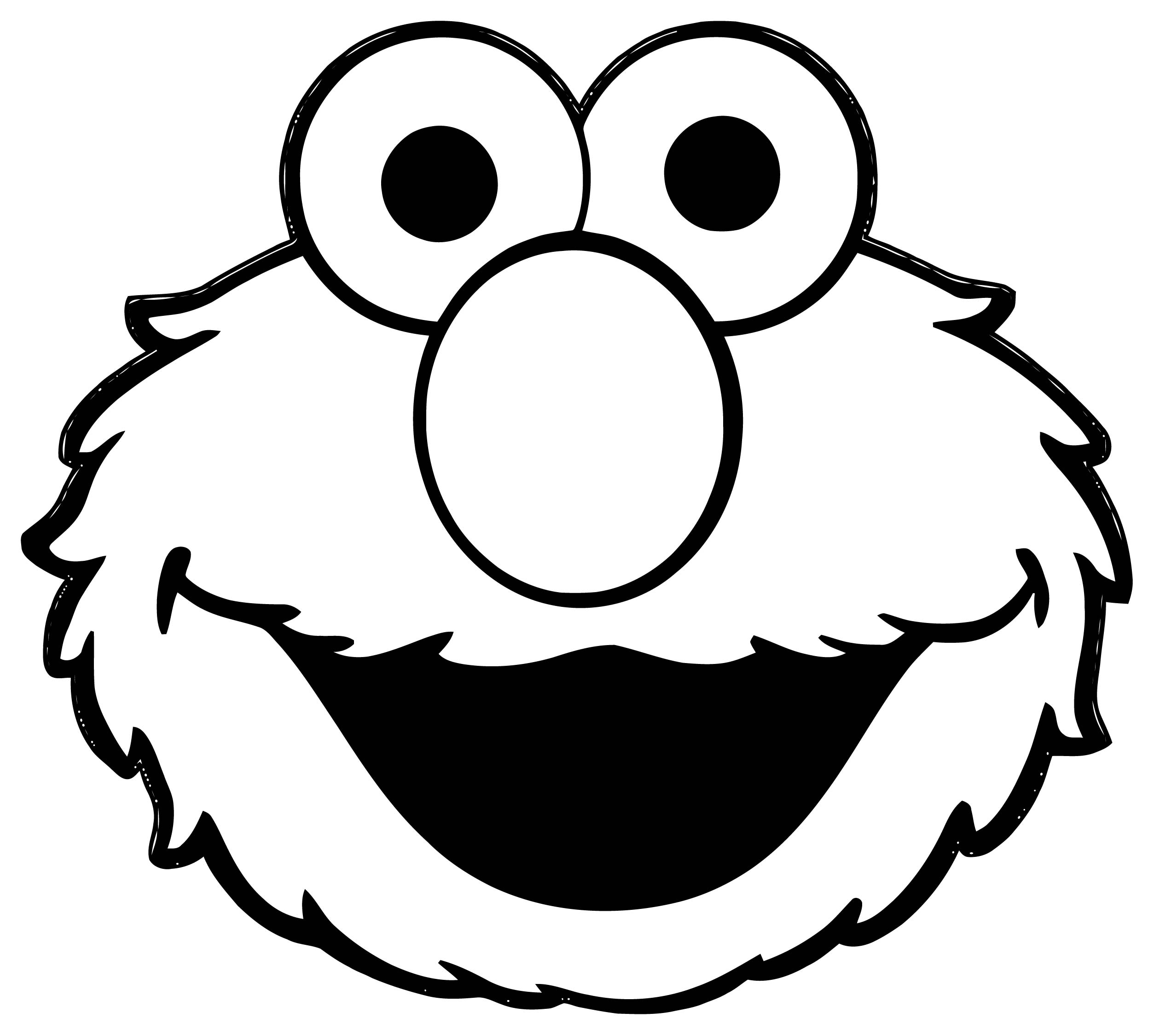 Sesame Street Elmo Coloring Page WeColoringPage 29
