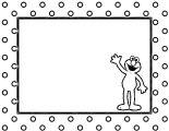 Sesame Street Elmo Coloring Page WeColoringPage 32