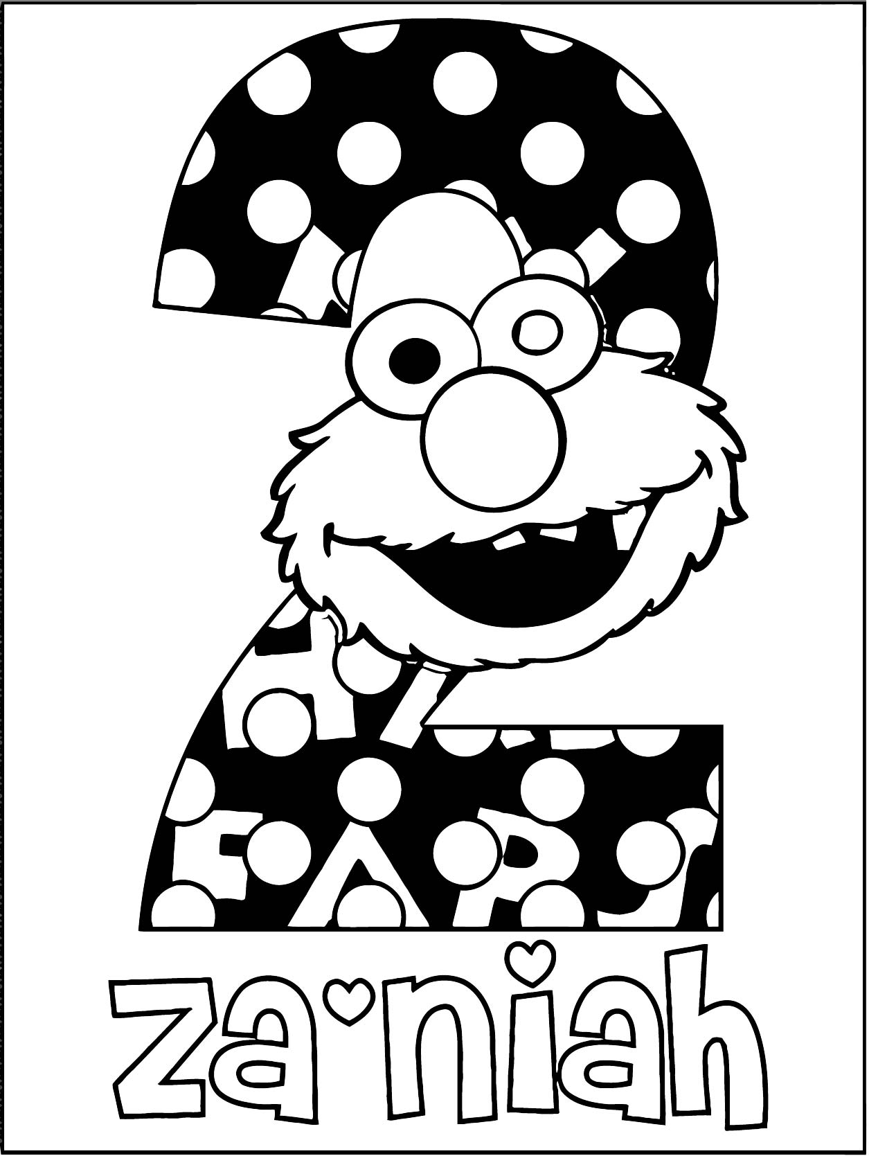 Sesame Street Elmo Coloring Page WeColoringPage 42