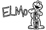 Sesame Street Elmo Coloring Page WeColoringPage 48