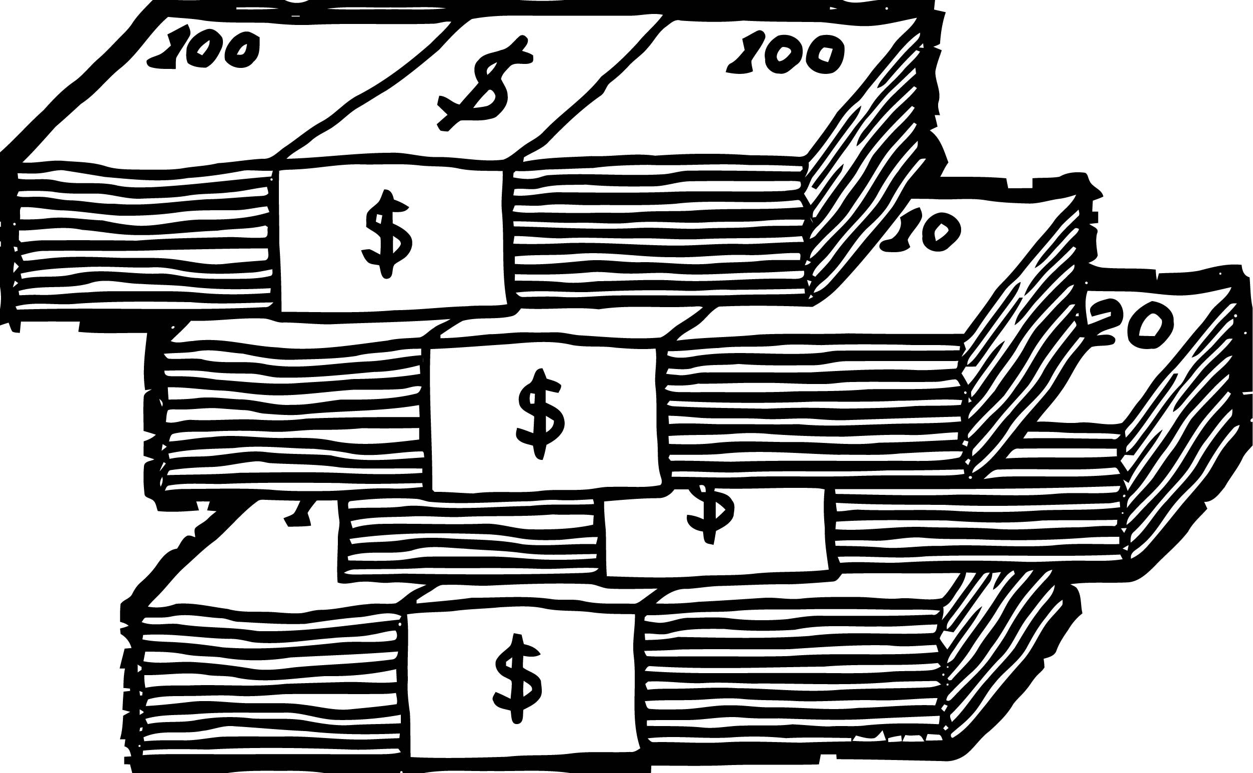 Treat Your Money Like Coloring Page