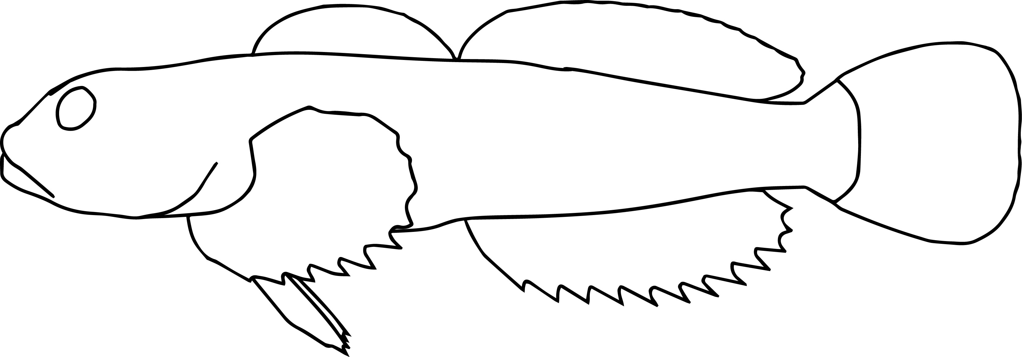 Fish 13 Coloring Page