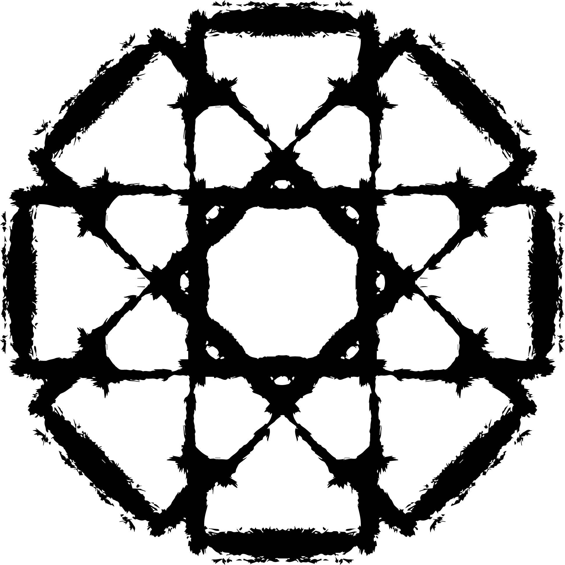 Adult Mandala Shape Orniment Style Coloring Page 02