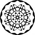 Adult Mandala Shape Orniment Style Coloring Page 04