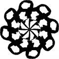 Adult Mandala Shape Orniment Style Coloring Page 10