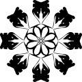 Adult Mandala Shape Orniment Style Coloring Page 16