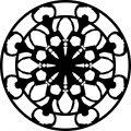 Adult Mandala Shape Orniment Style Coloring Page 18