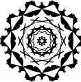 Adult Mandala Shape Orniment Style Coloring Page 51