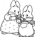 Aruby Max And Ruby Coloring Page