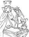 Aurora Queen Baby Sleep Child Coloring Page