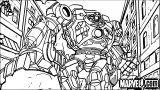 Avengers Coloring Page 037